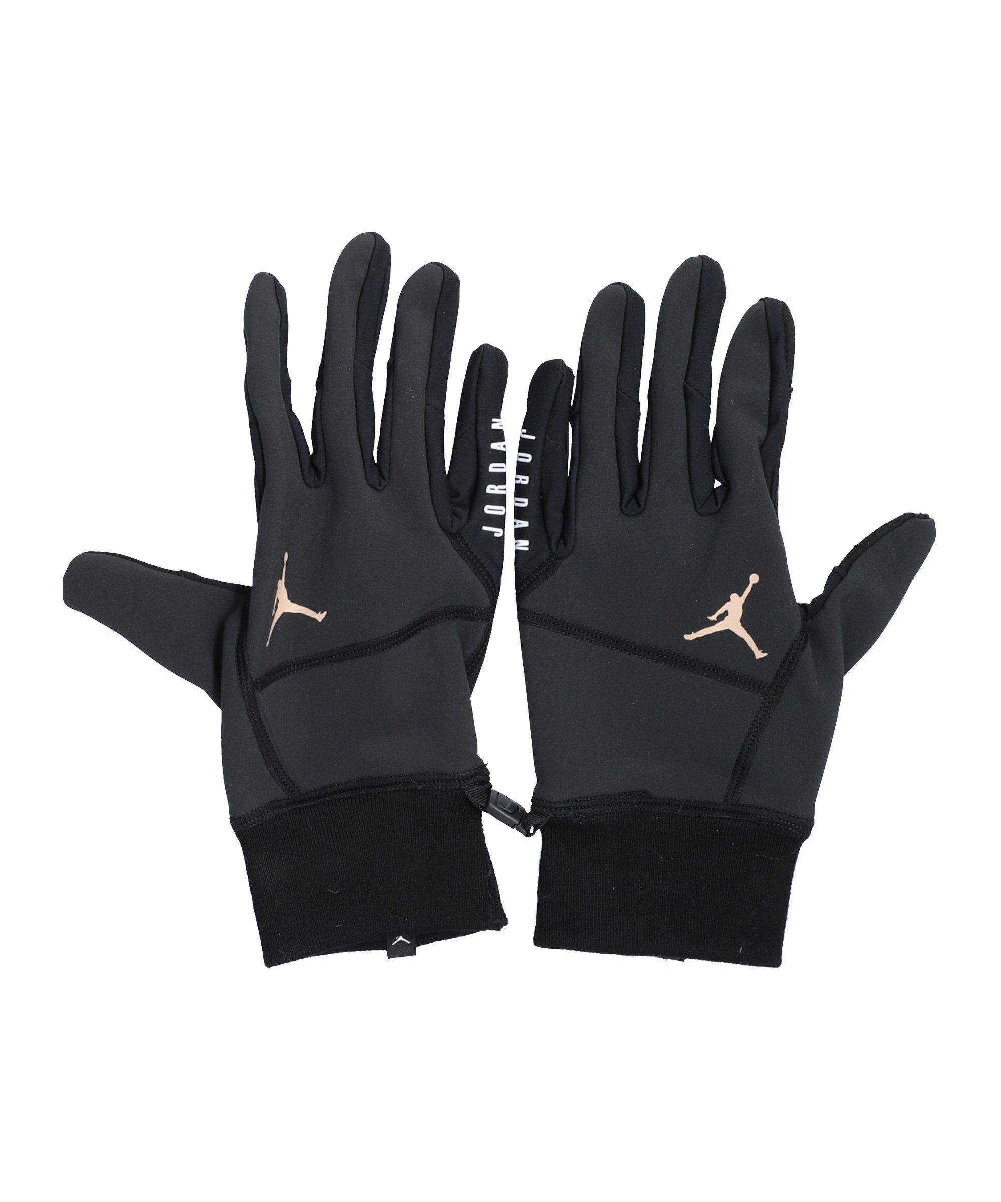 Jordan Hyperstorm Fleece Tech Handschuhe F034 - schwarz