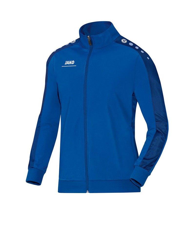 Jako Polyesterjacke Striker Blau F04 - blau