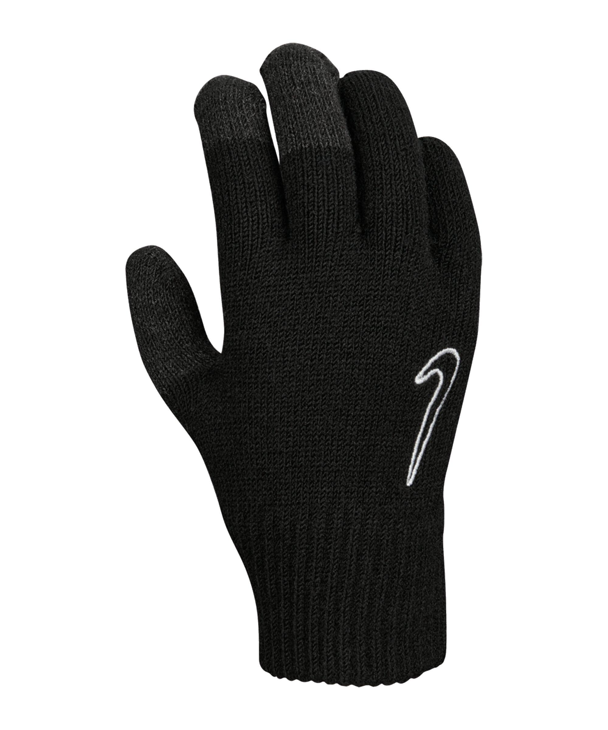 Nike Knitted Tech Grip Handschuhe 2.0 Kids F091 - schwarz