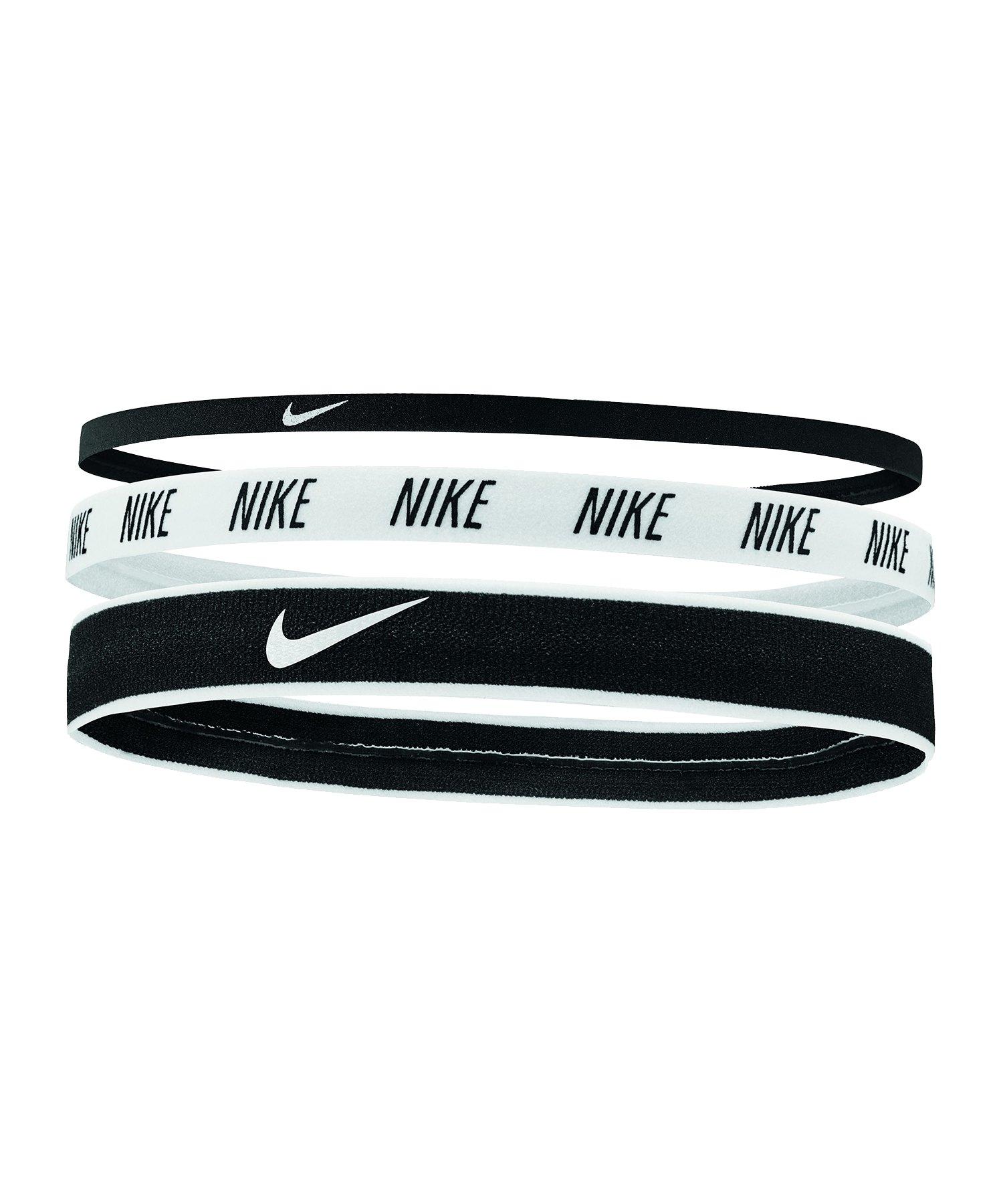 Nike Mixed Stirnbänder 3er Pack F930 - schwarz
