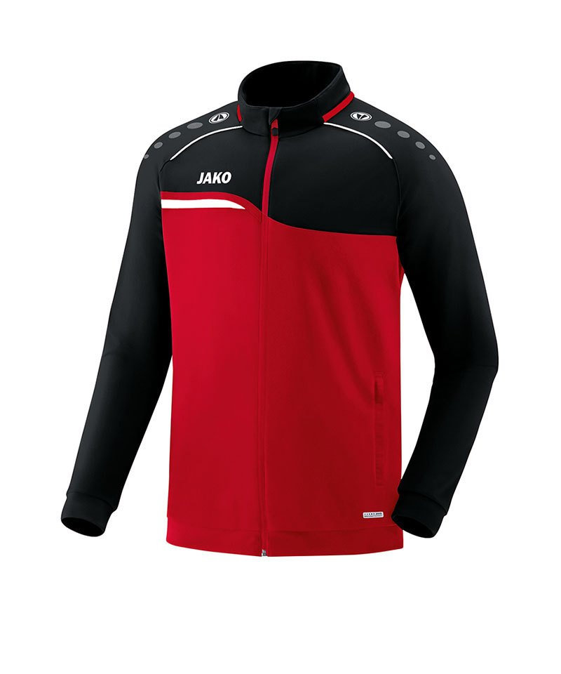 Jako Competition 2.0 Polyesterjacke Kids Rot F01 - rot