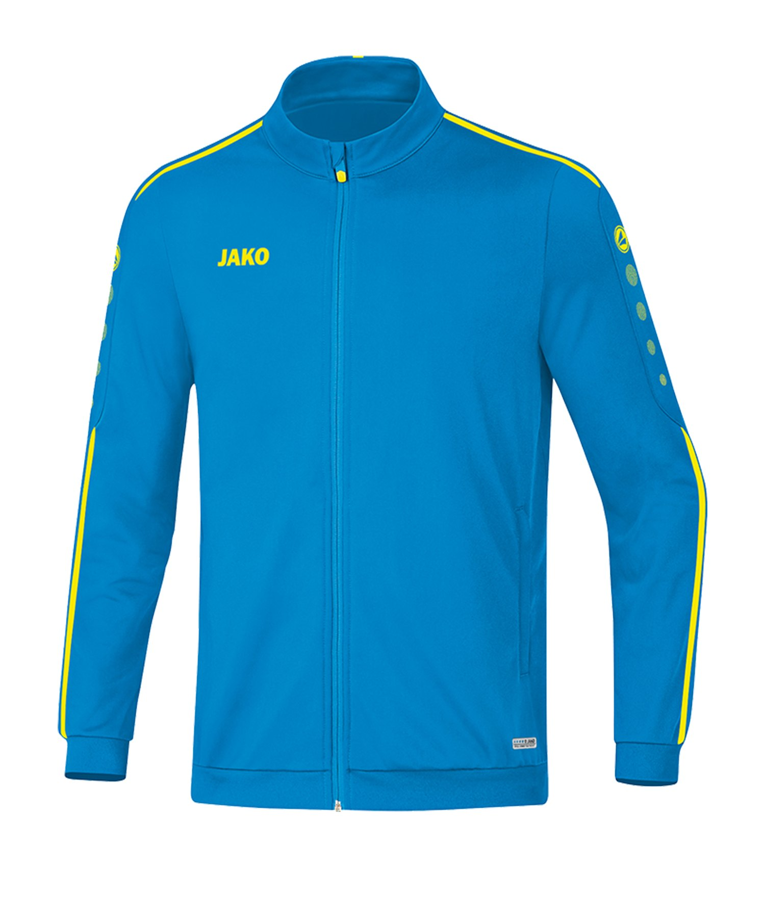 Jako Striker 2.0 Polyesterjacke Blau Gelb F89 - Blau
