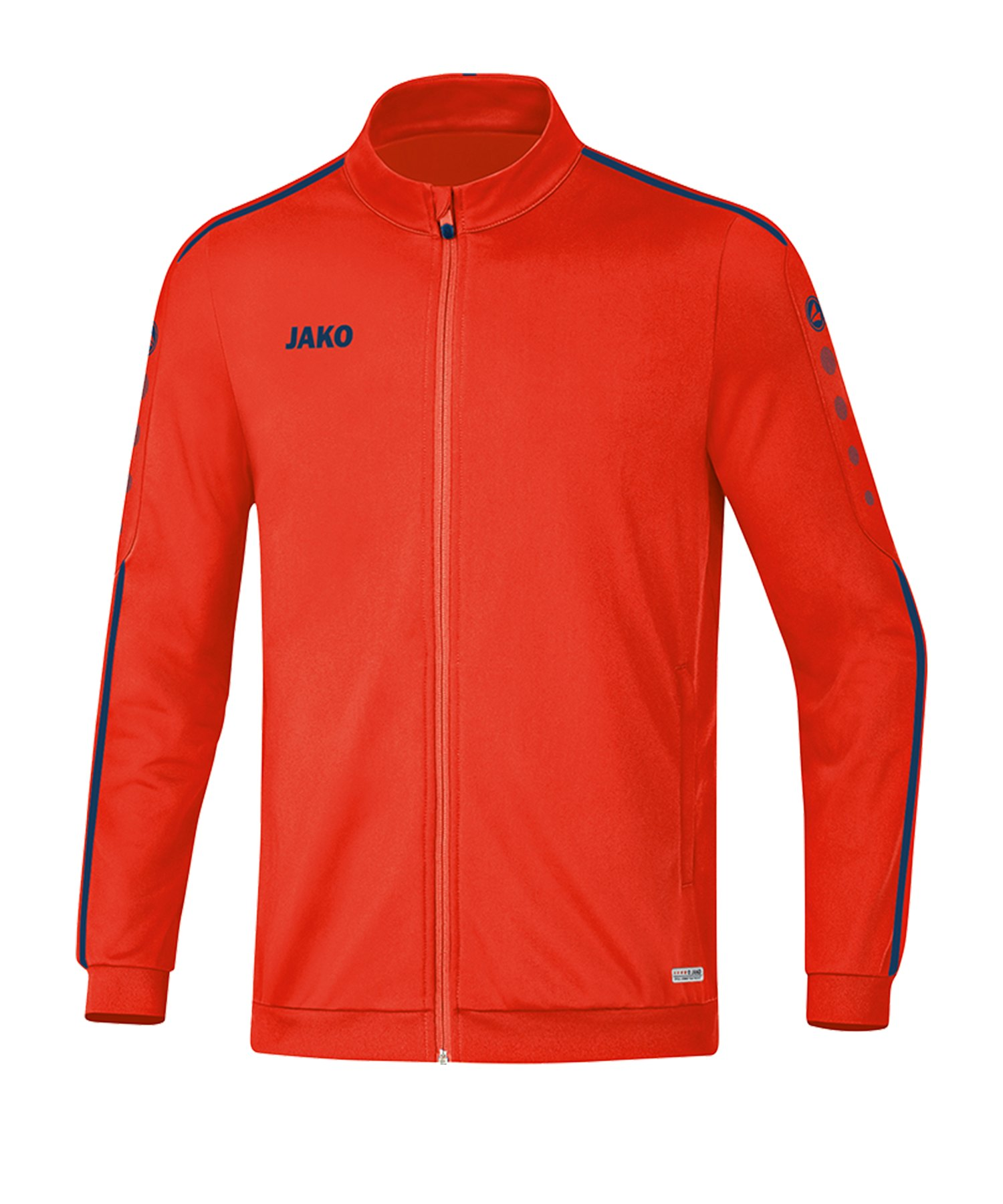 Jako Striker 2.0 Polyesterjacke Orange Blau F18 - Orange