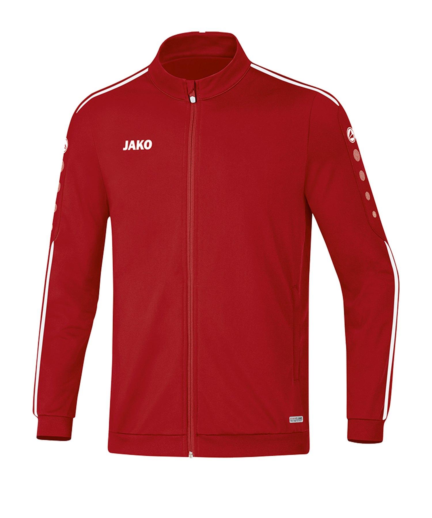 Jako Striker 2.0 Polyesterjacke Rot Weiss F11 - Rot