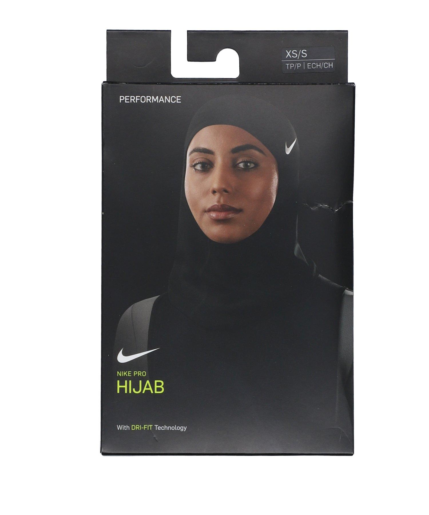 Nike Hijab 2.0 Kopftuch Muslima Schwarz F010 - schwarz