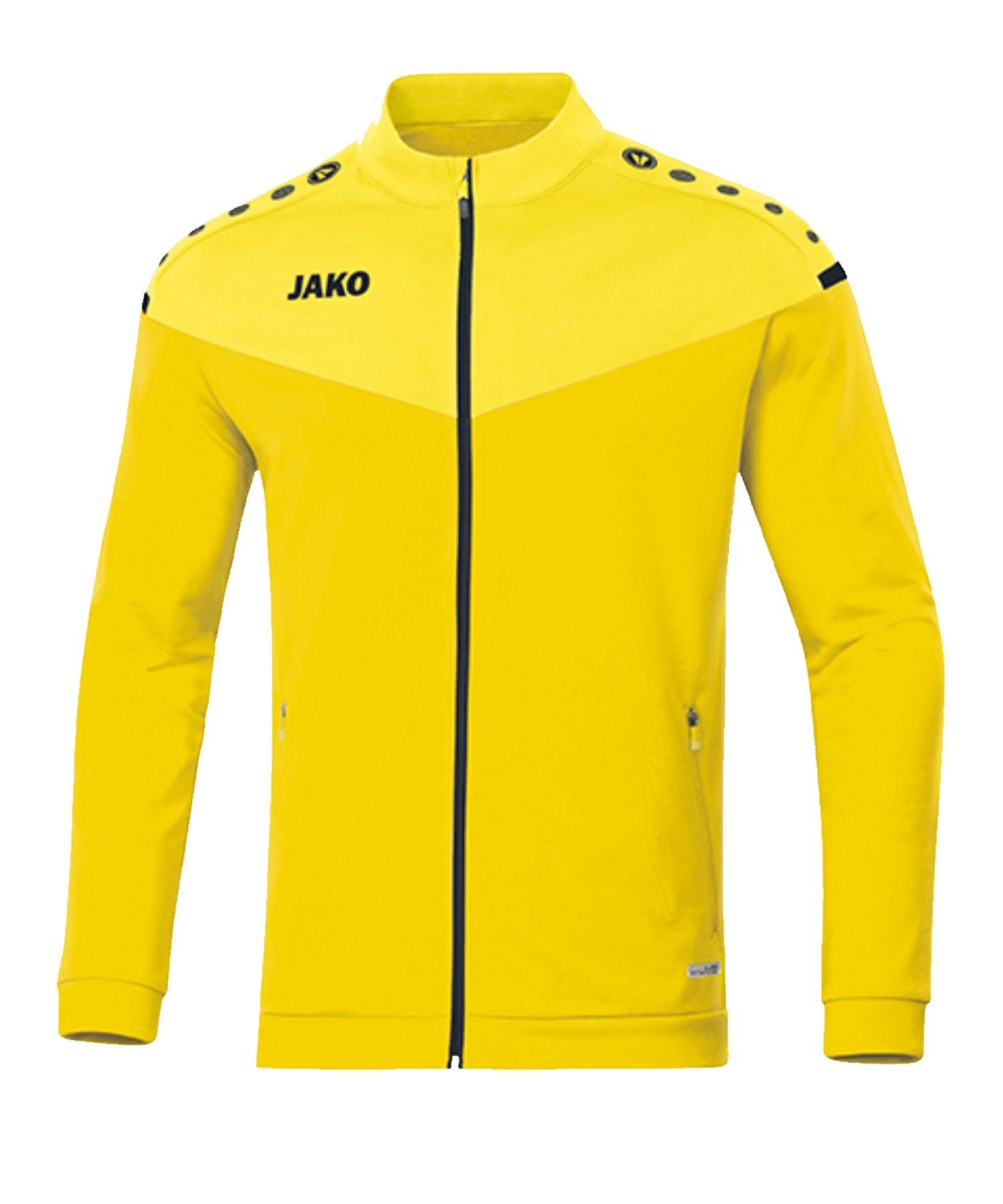 Jako Champ 2.0 Polyesterjacke Gelb F03 - gelb
