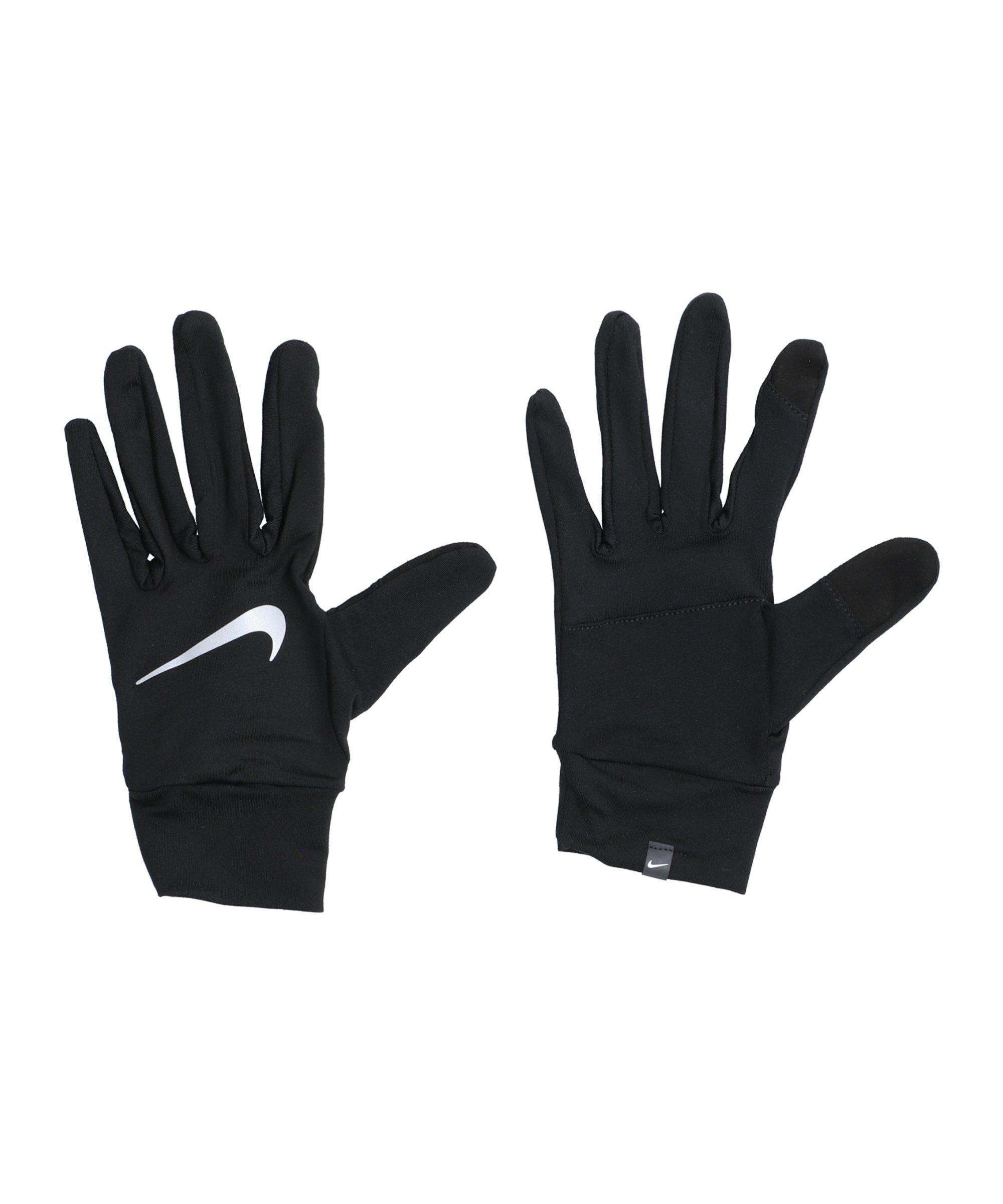 Nike Accelerate Handschuhe Running Schwarz F082 - schwarz
