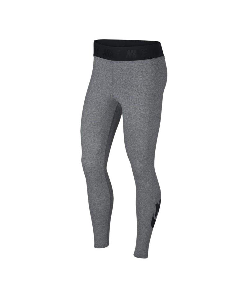 Nike Leg-A-See Legging Tight Damen Grau F091 - grau