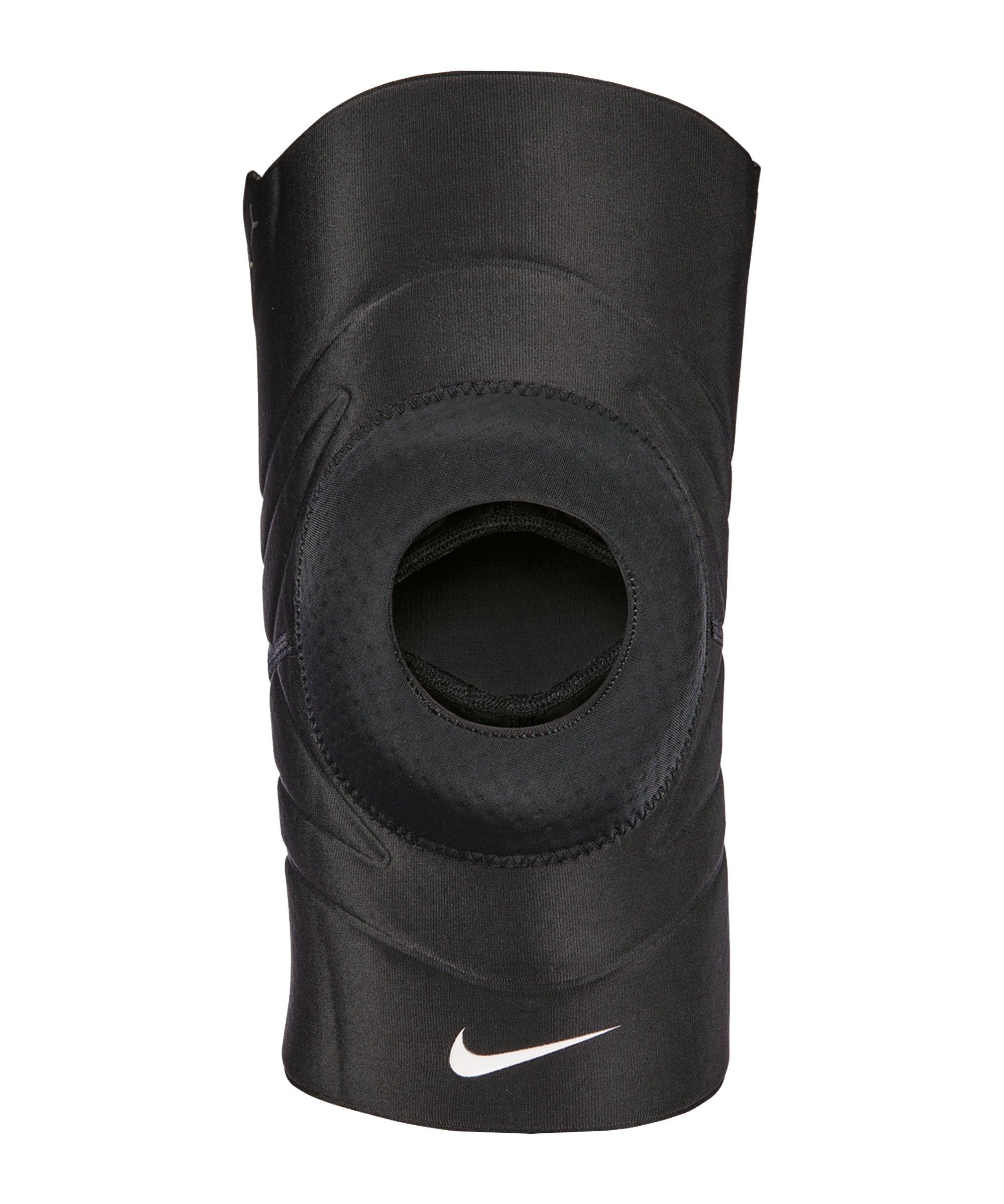 Nike Pro Open Patella Knee Sleeve 3.0 Schwarz F010 - schwarz
