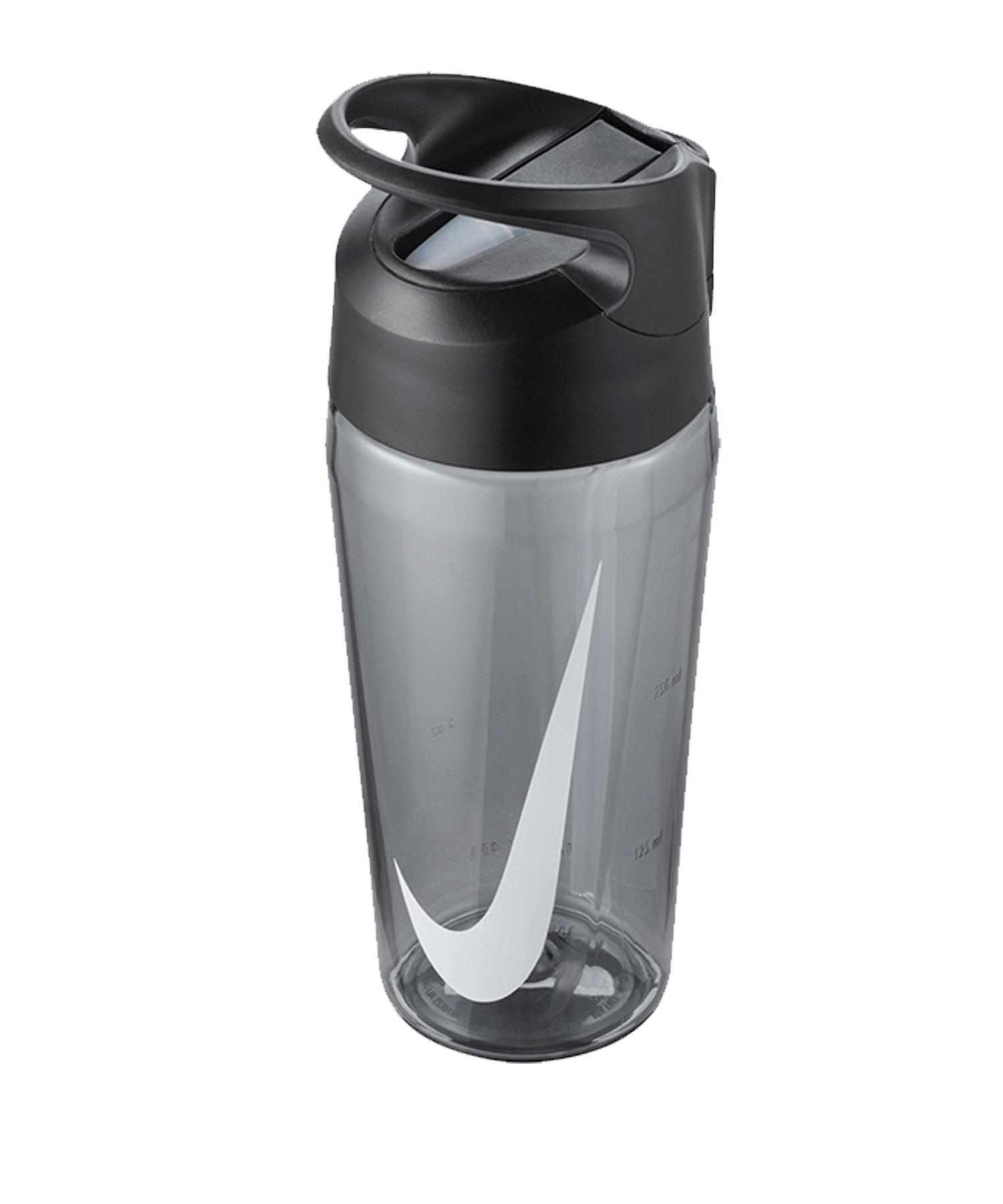 Nike TR Hypercharge Straw Bottle 16 OZ F025 - grau