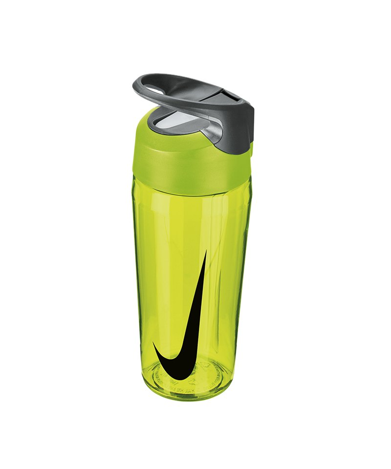 Nike TR Hypercharge Straw Bottle 709ml Gelb F739 - gelb