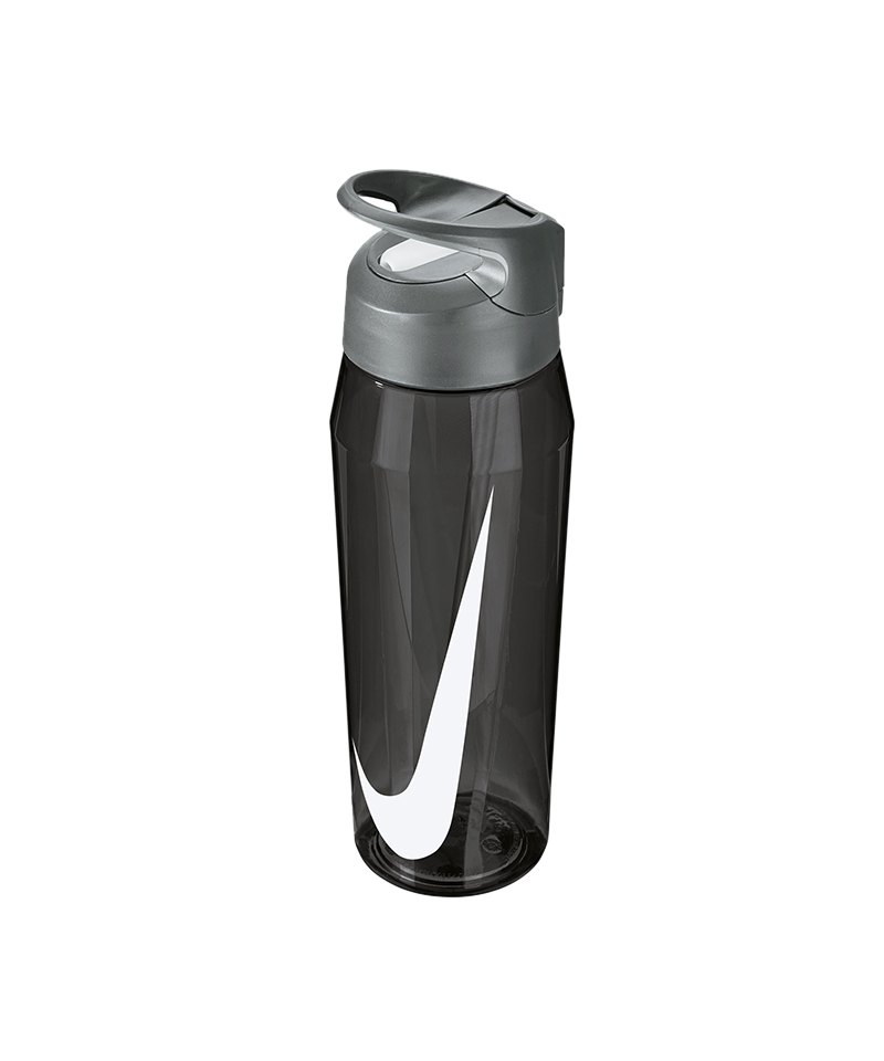 Nike TR Hypercharge Straw Bottle 709ml Grau F032 - grau