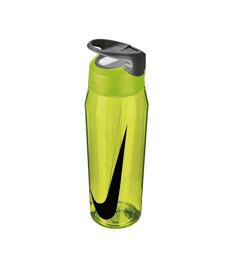 Nike TR Hypercharge Straw Bottle 946ml Gelb F739 - gelb