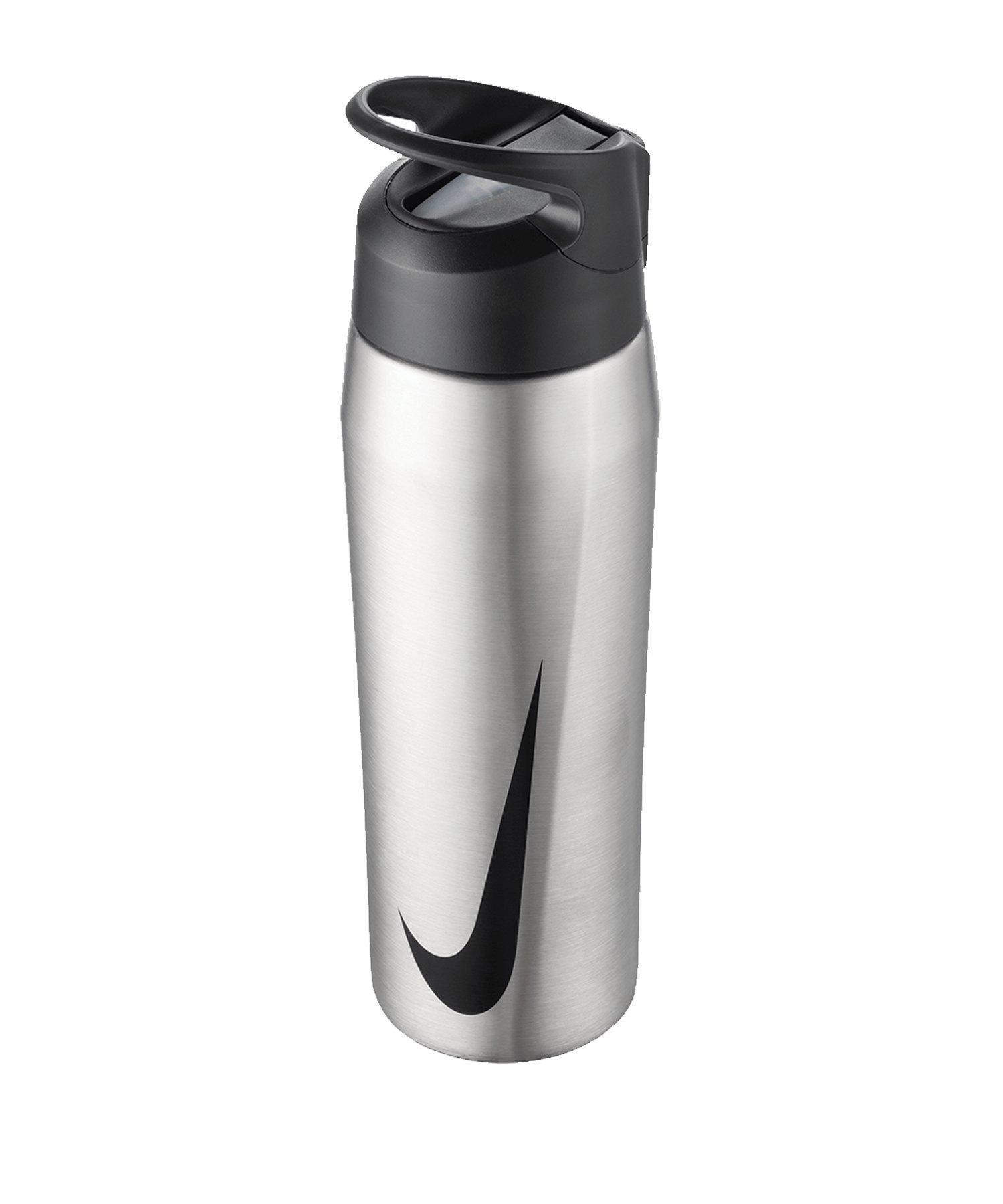 Nike Hypercharge Straw Bottle 24 OZ Grau F956 - grau
