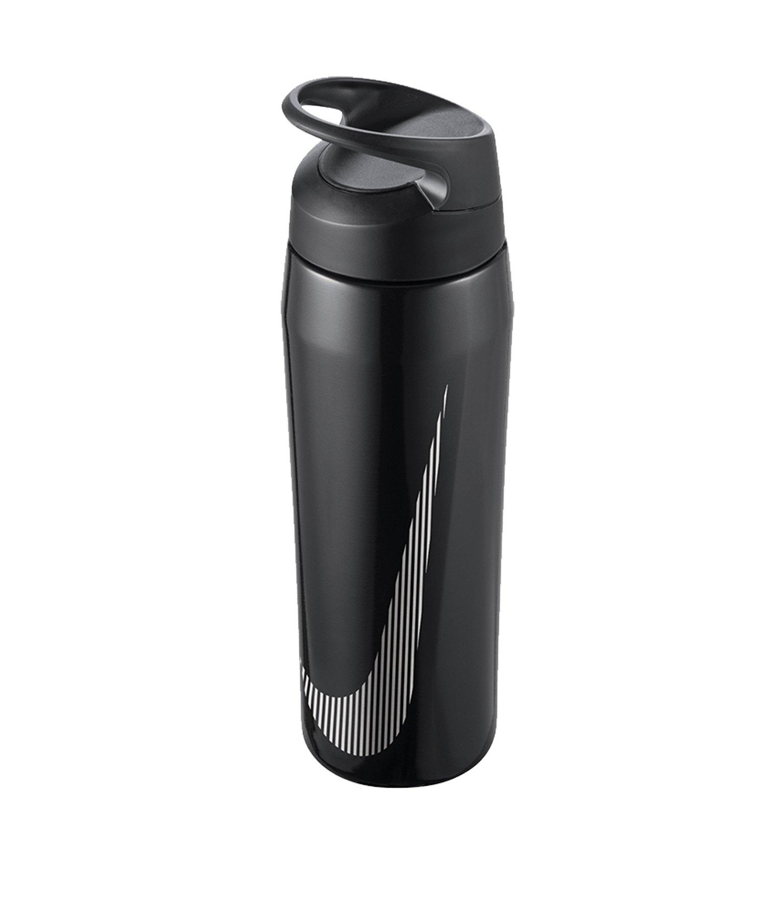 Nike Hypercharge Twist Bottle 24 OZ Schwarz F074 - schwarz