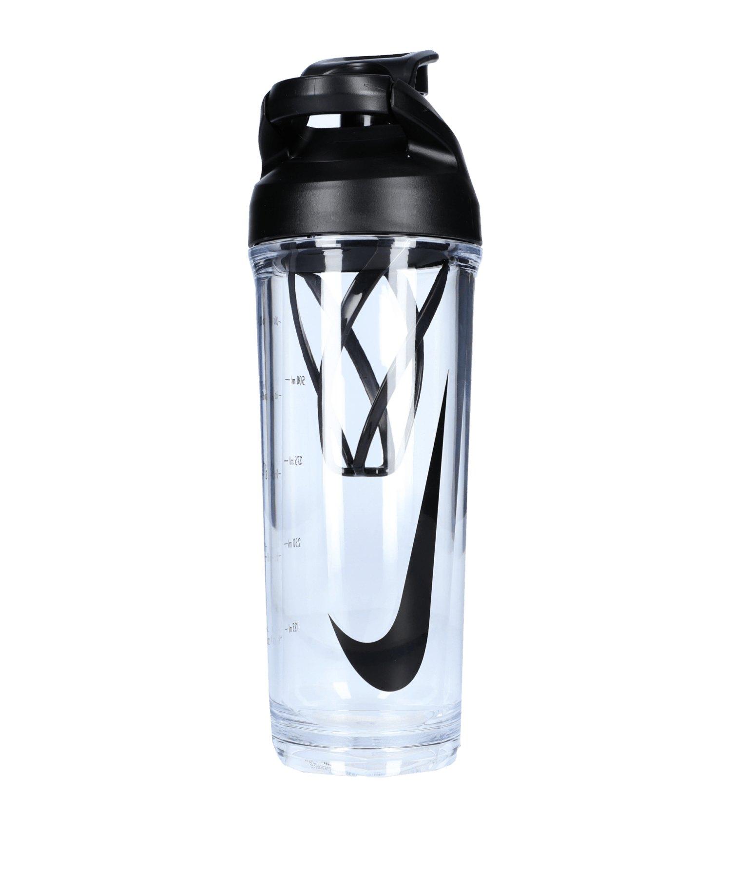 Nike Hypercharge Shaker Bottle 24 OZ Schwarz F958 - schwarz