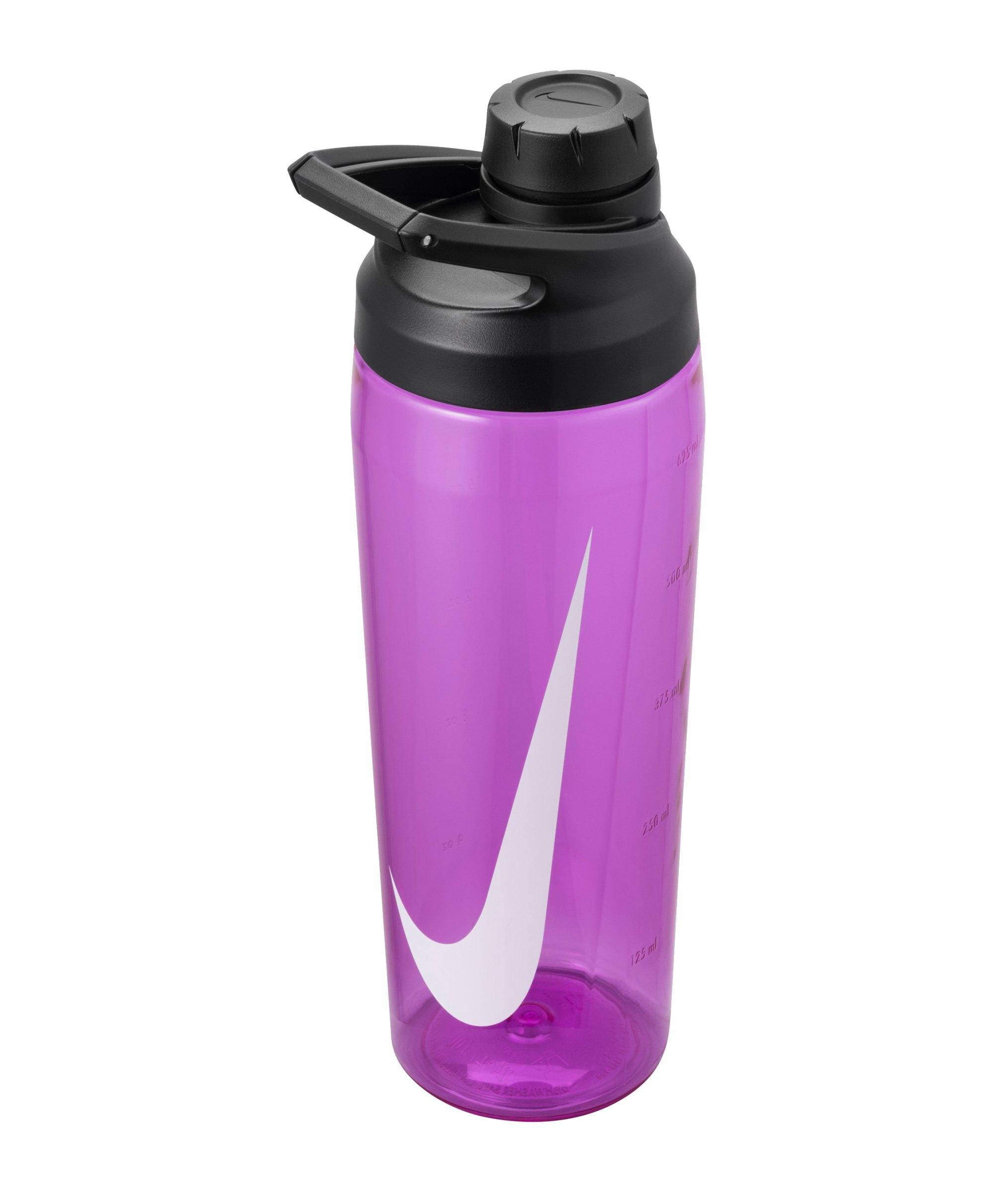 Nike Hypercharge Chug Bottle 709ml Pink F650 - lila
