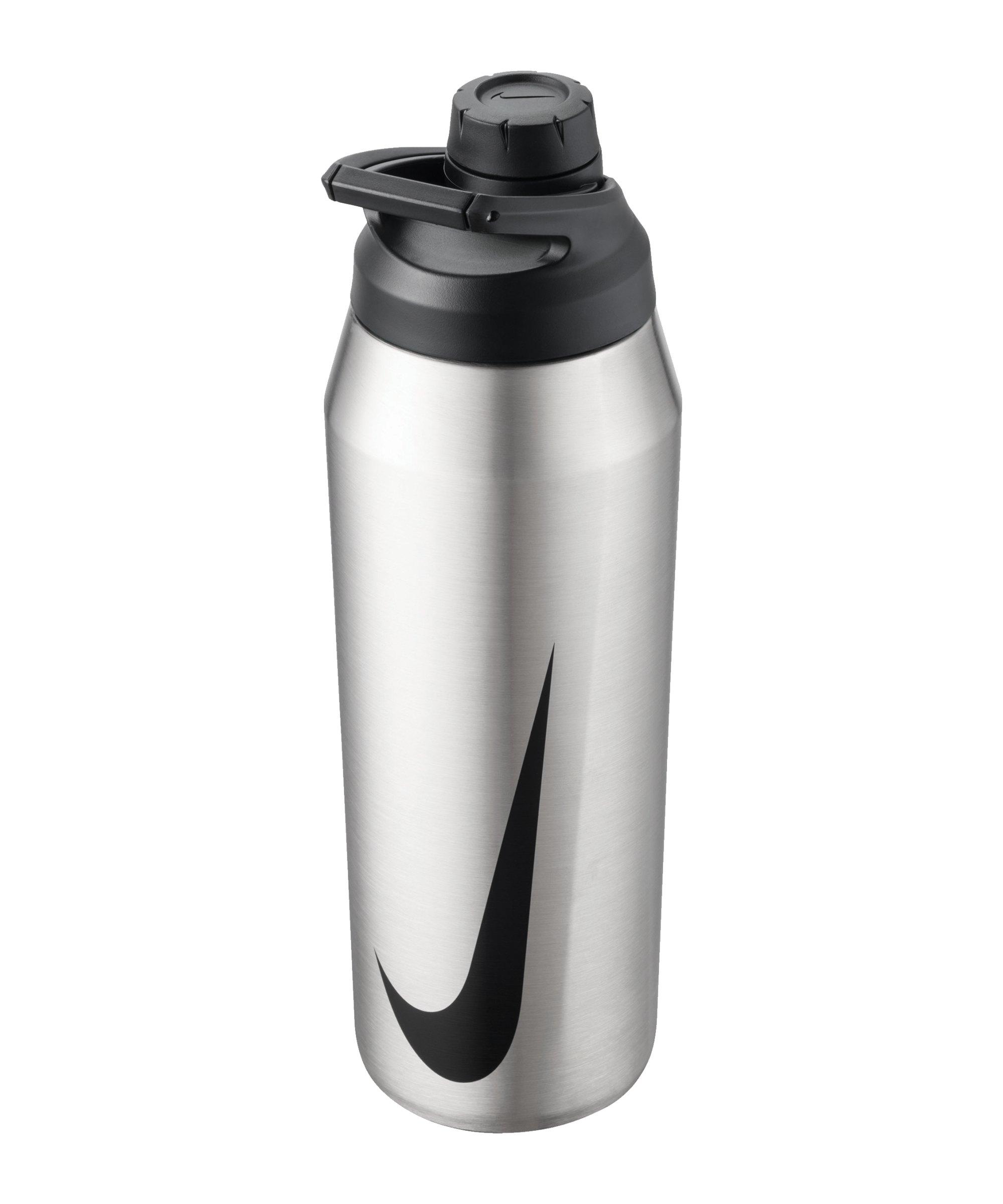 Nike SS Hypercharge Trinkflasche 709 ml F956 - grau