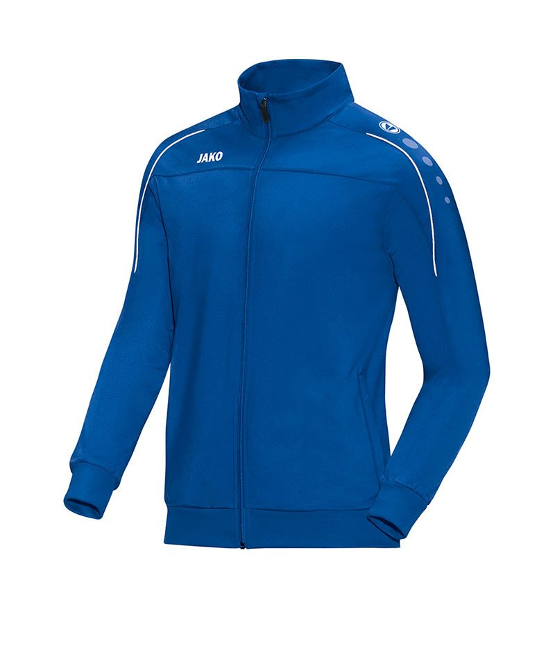 Jako Polyesterjacke Classico Blau F04 - blau