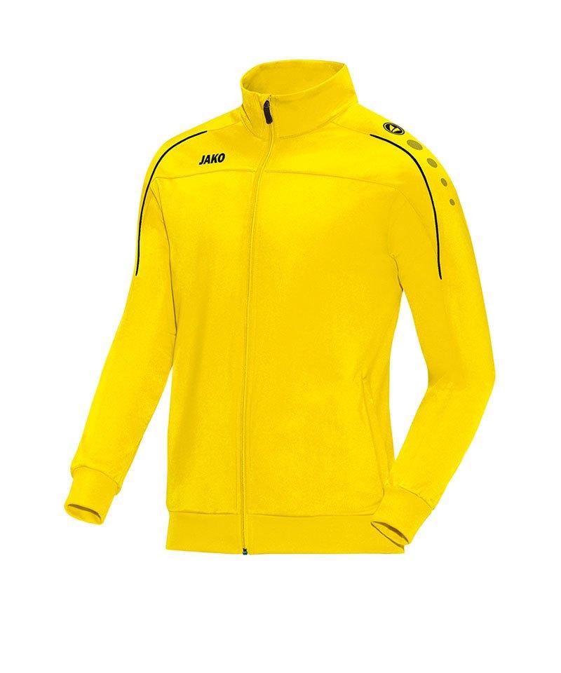 Jako Polyesterjacke Classico Kinder Gelb Schwarz F03 - gelb