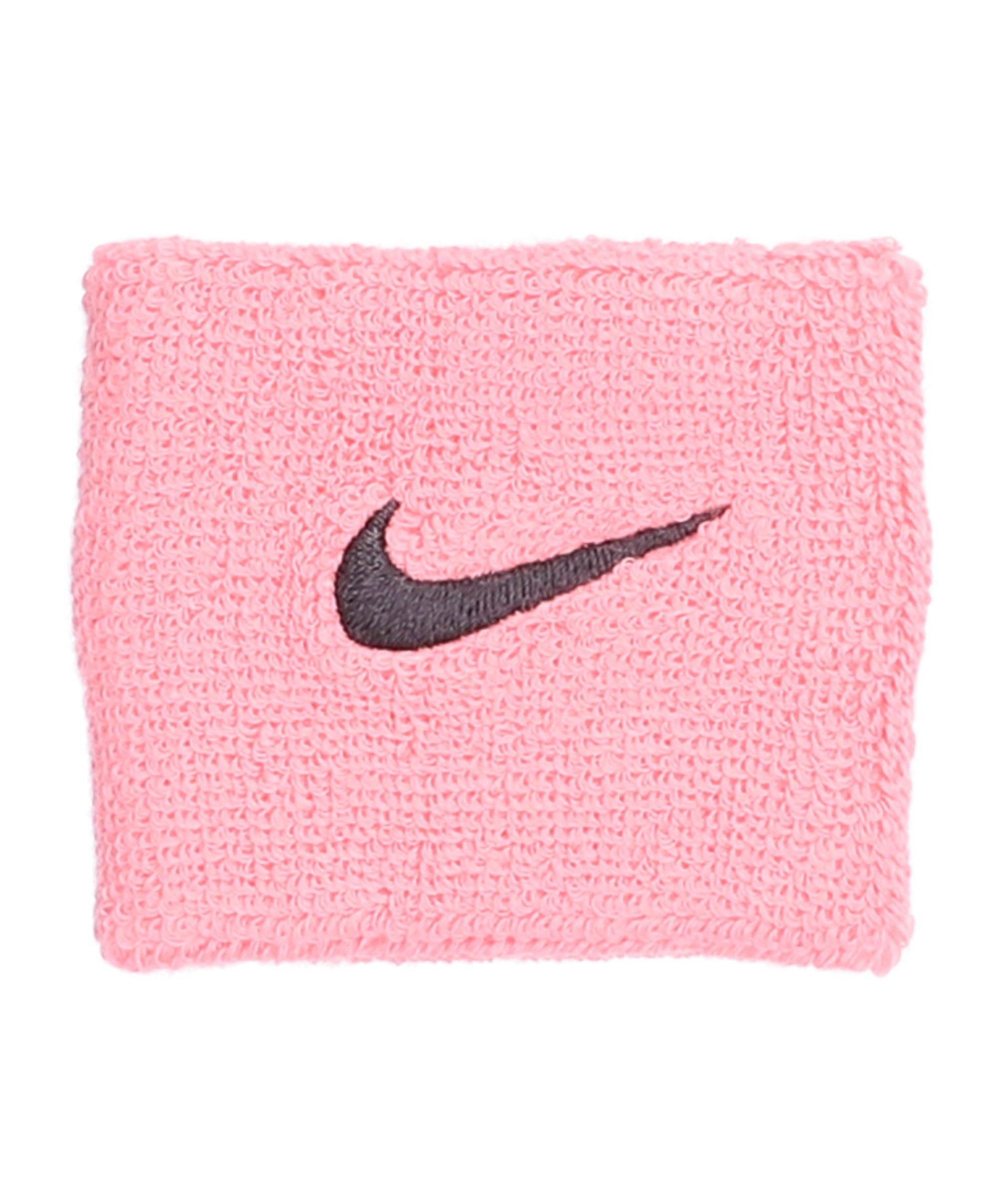 Nike Swoosh Wristbands Pink F677 - pink