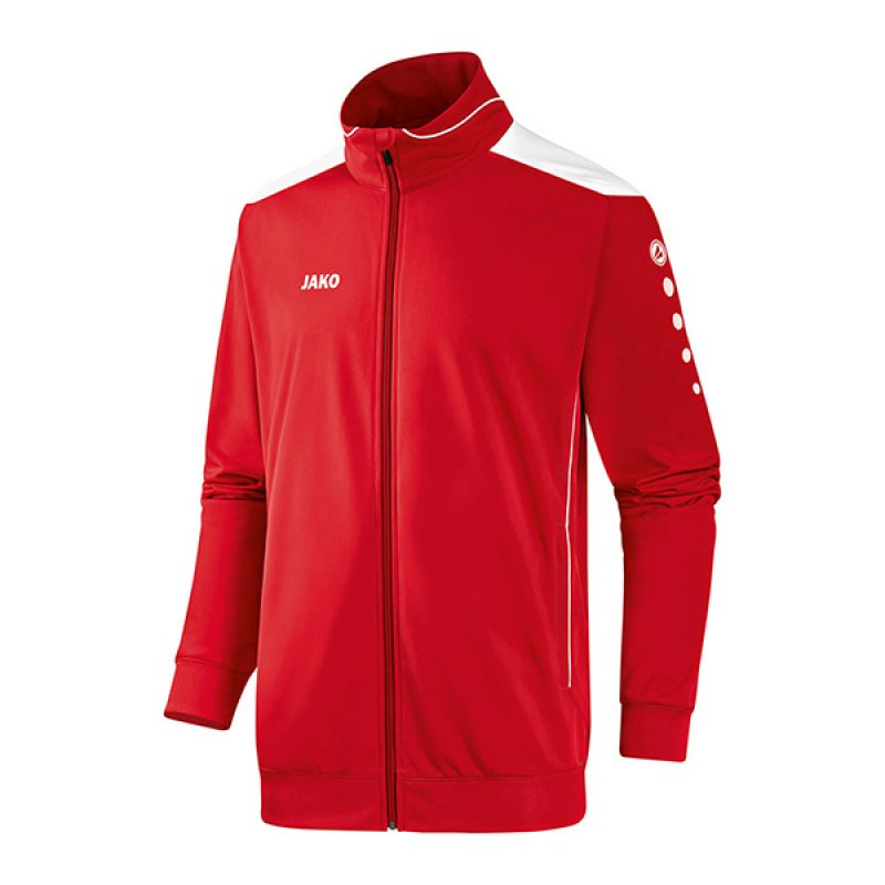 Jako Polyesterjacke Cup Kinder F01 Rot Weiss - rot