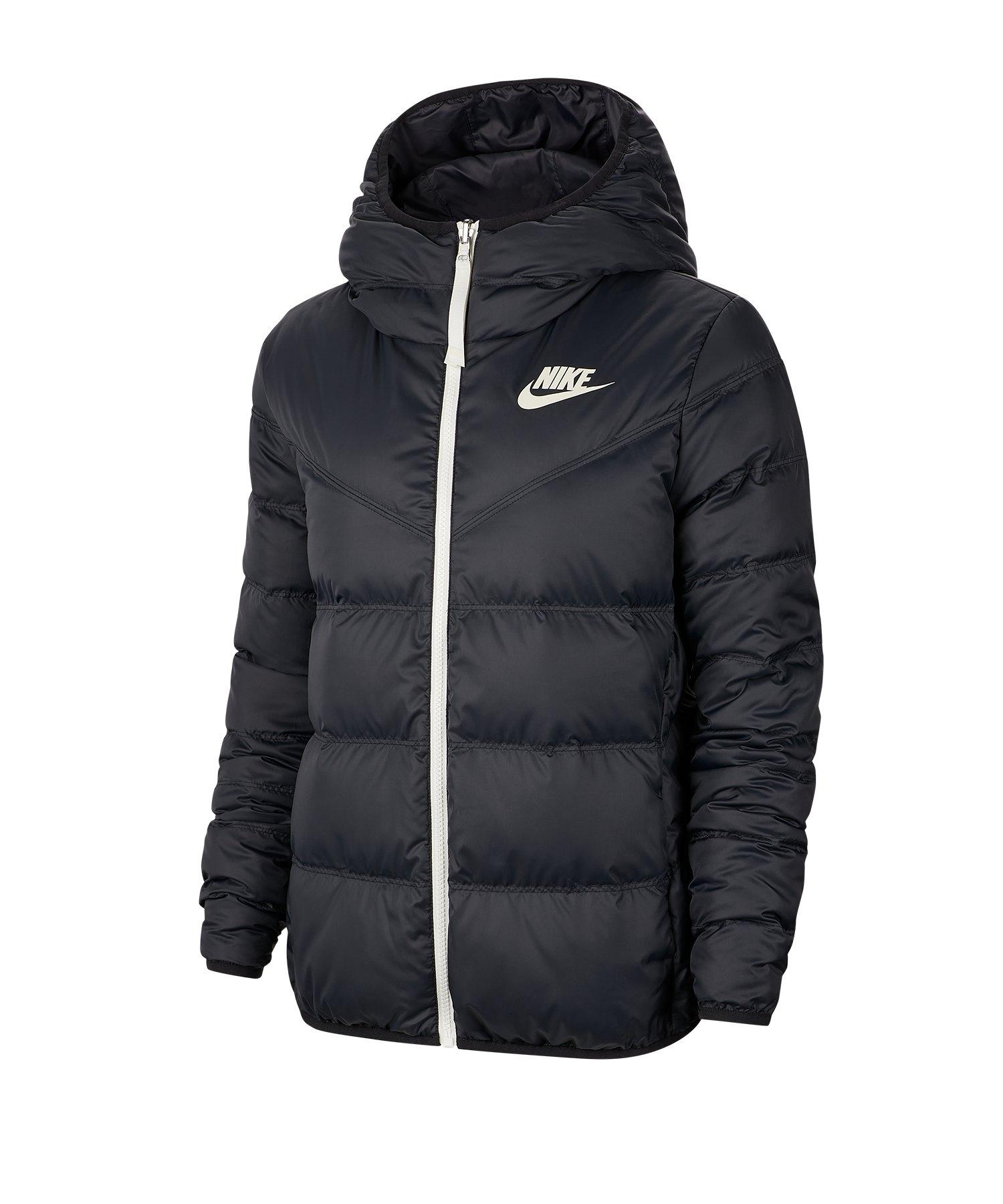 Nike Windrunner Down Fill Wendejacke Damen F011 - schwarz