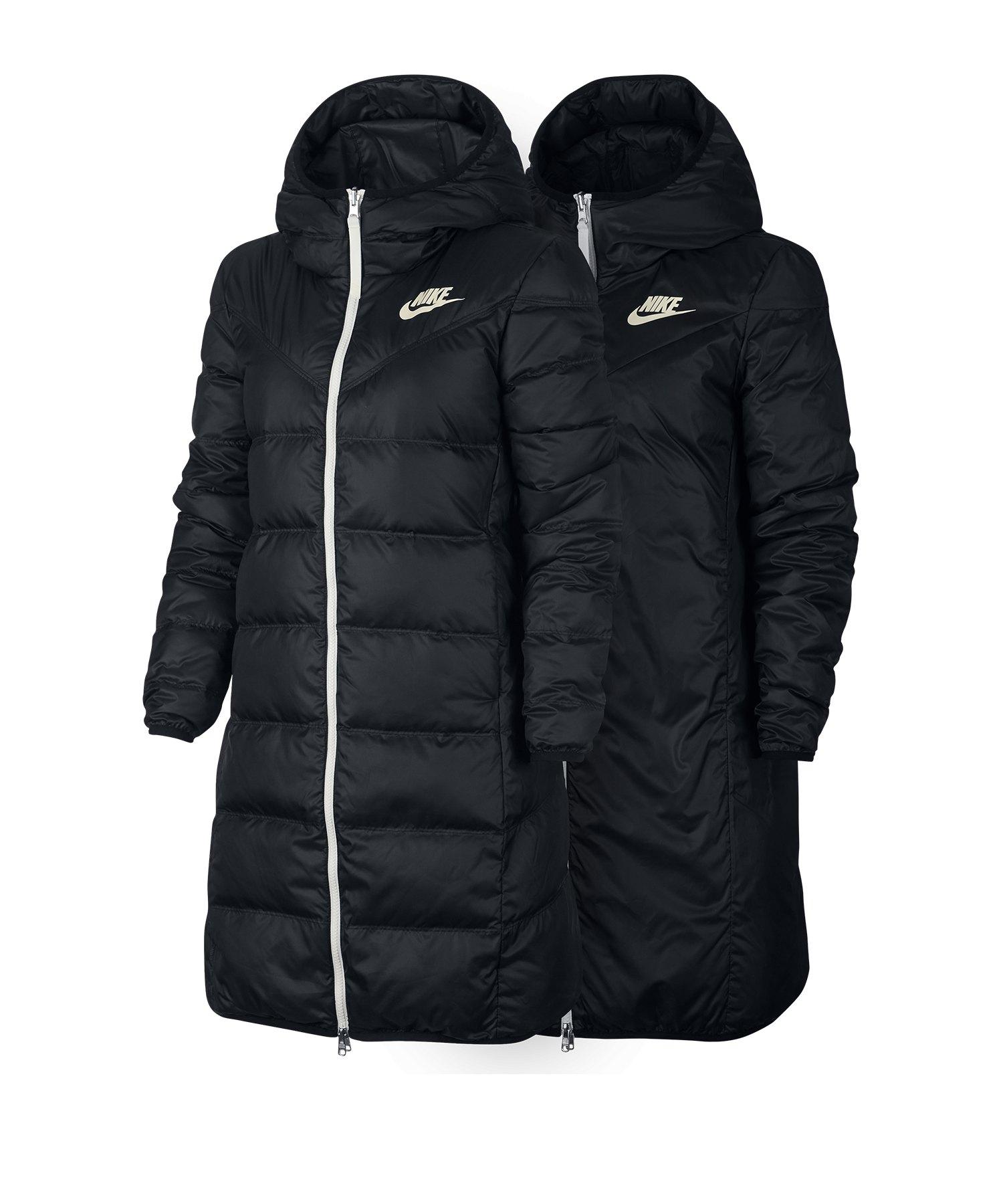 Nike Windrunner Down Wendeparka Damen F011 - schwarz