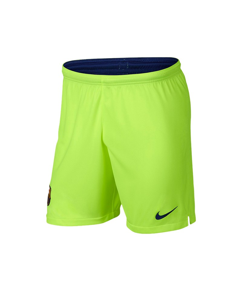 Nike FC Barcelona Short Away 2018/2019 Gelb F702 - gelb