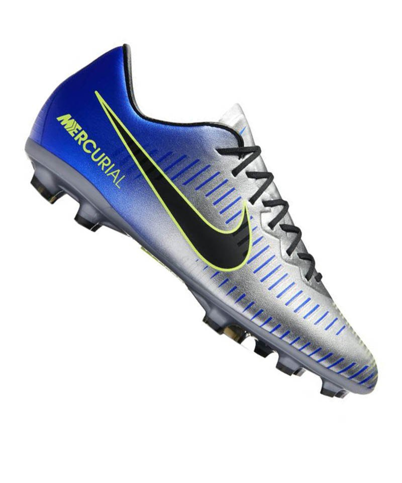 Nike Jr Mercurial Vapor XI NJR FG Kids Blau F407 - blau