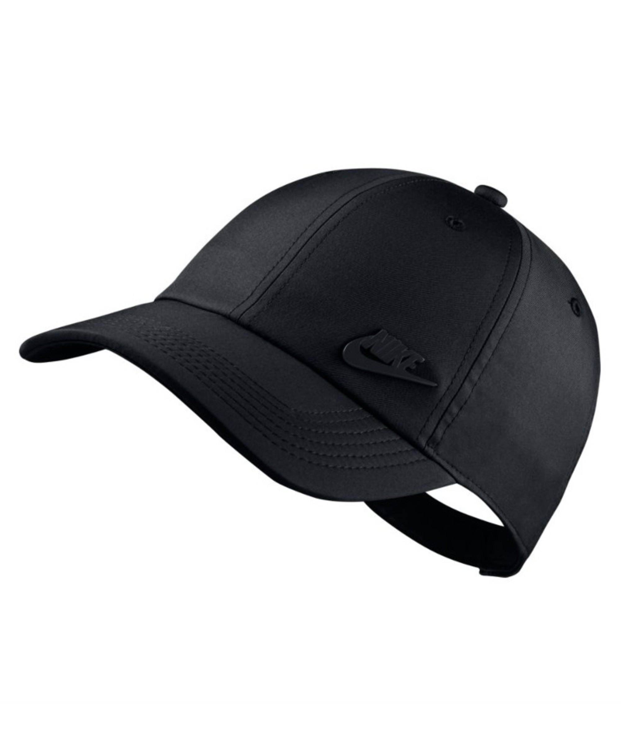 Nike Heritage 86 Aerobill Cap Kappe Schwarz F010 - schwarz