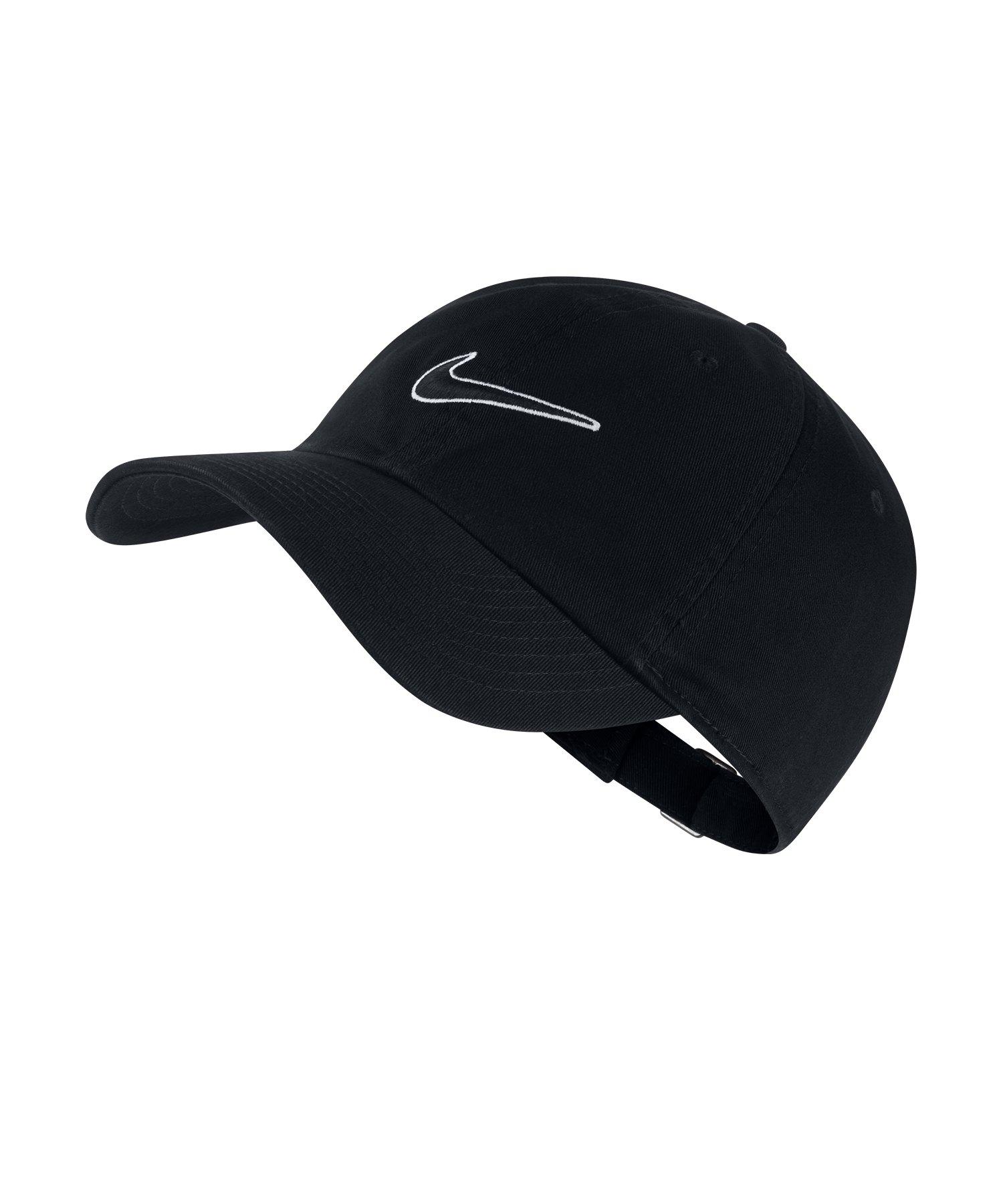 Nike Heritage 86 Essential Swoosh Schwarz F010 - schwarz