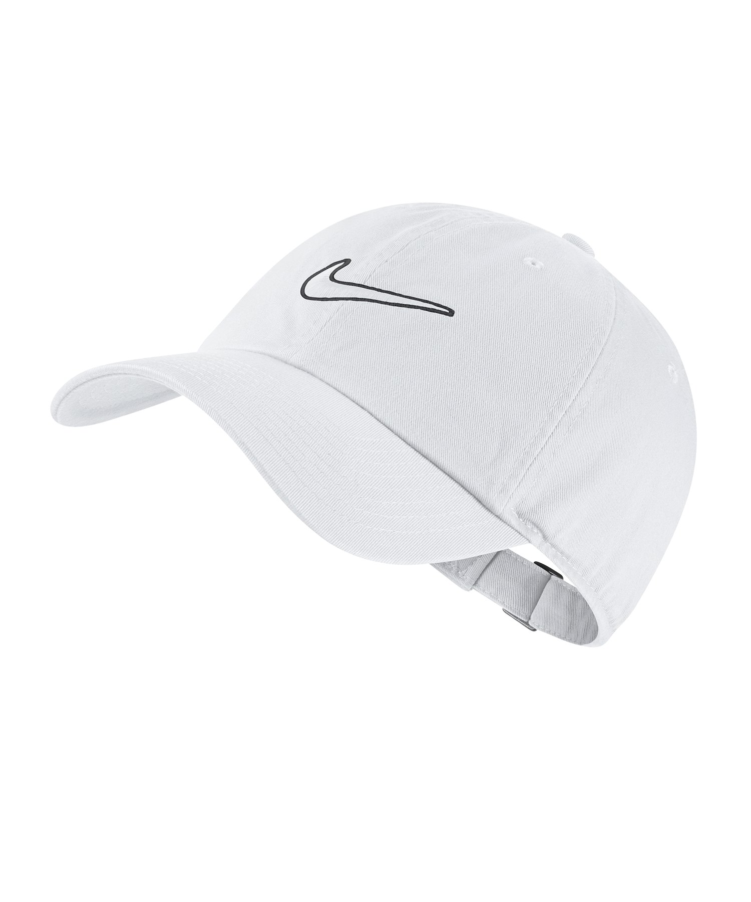 Nike Heritage 86 Essential Swoosh Weiss F100 - weiss