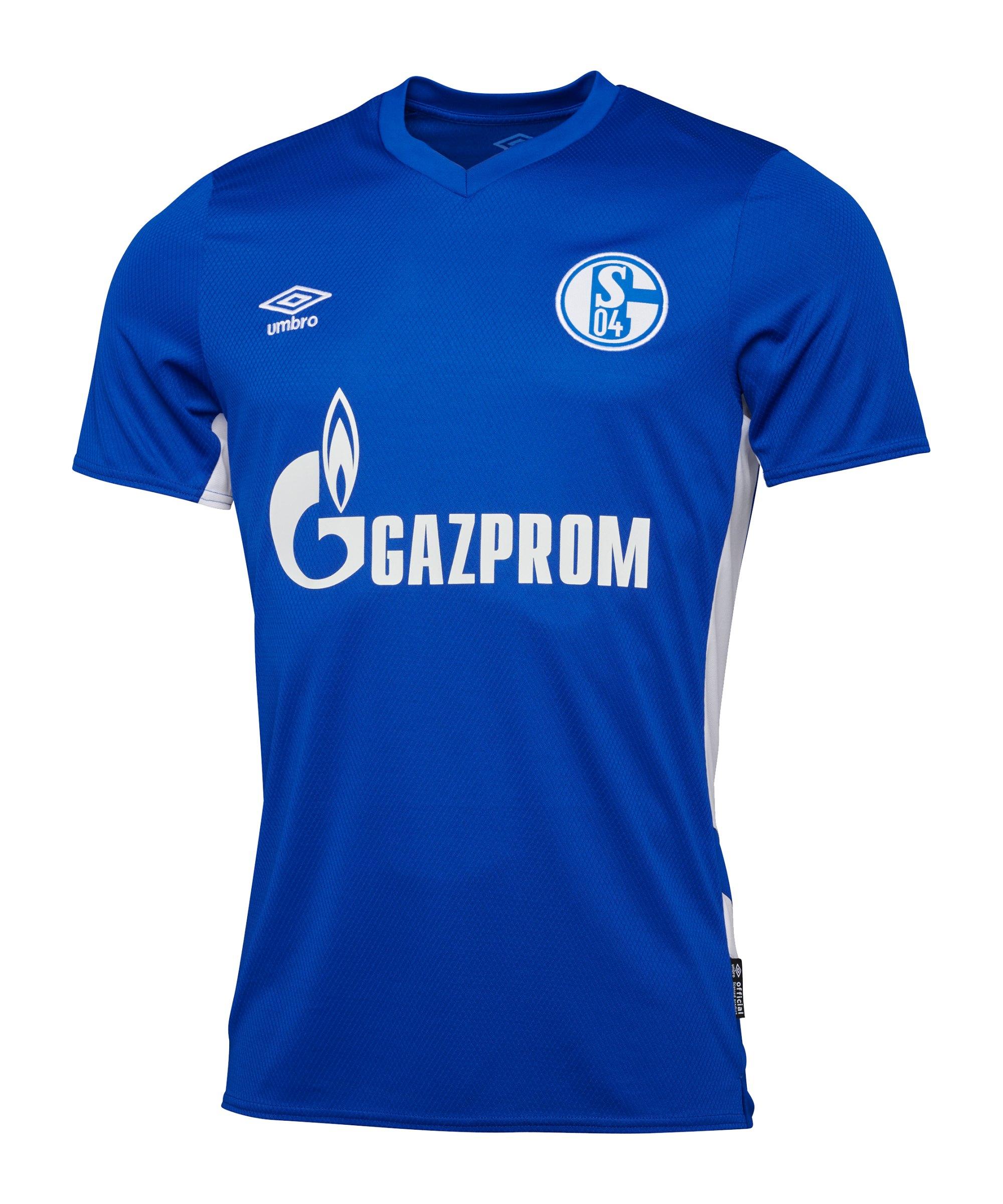 Umbro FC Schalke 04 Trikot Home 2021/2022 Blau - blau