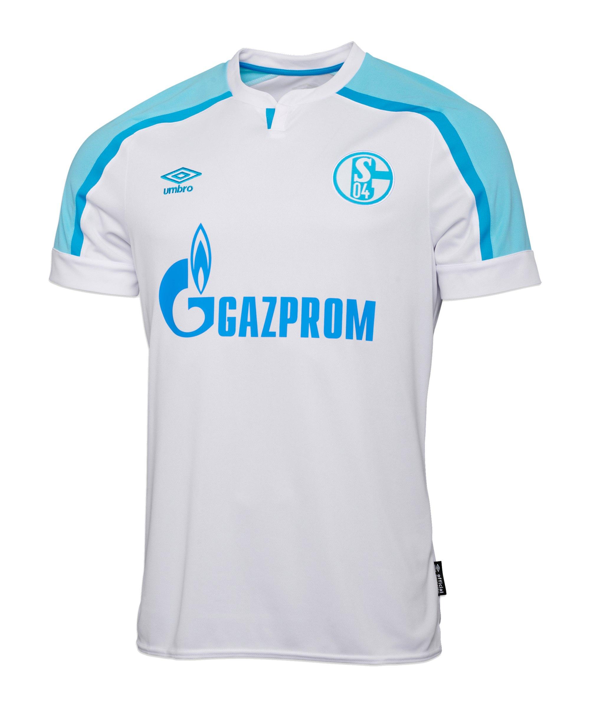 Umbro FC Schalke 04 Trikot Away Kids 2021/2022 Weiss - weiss