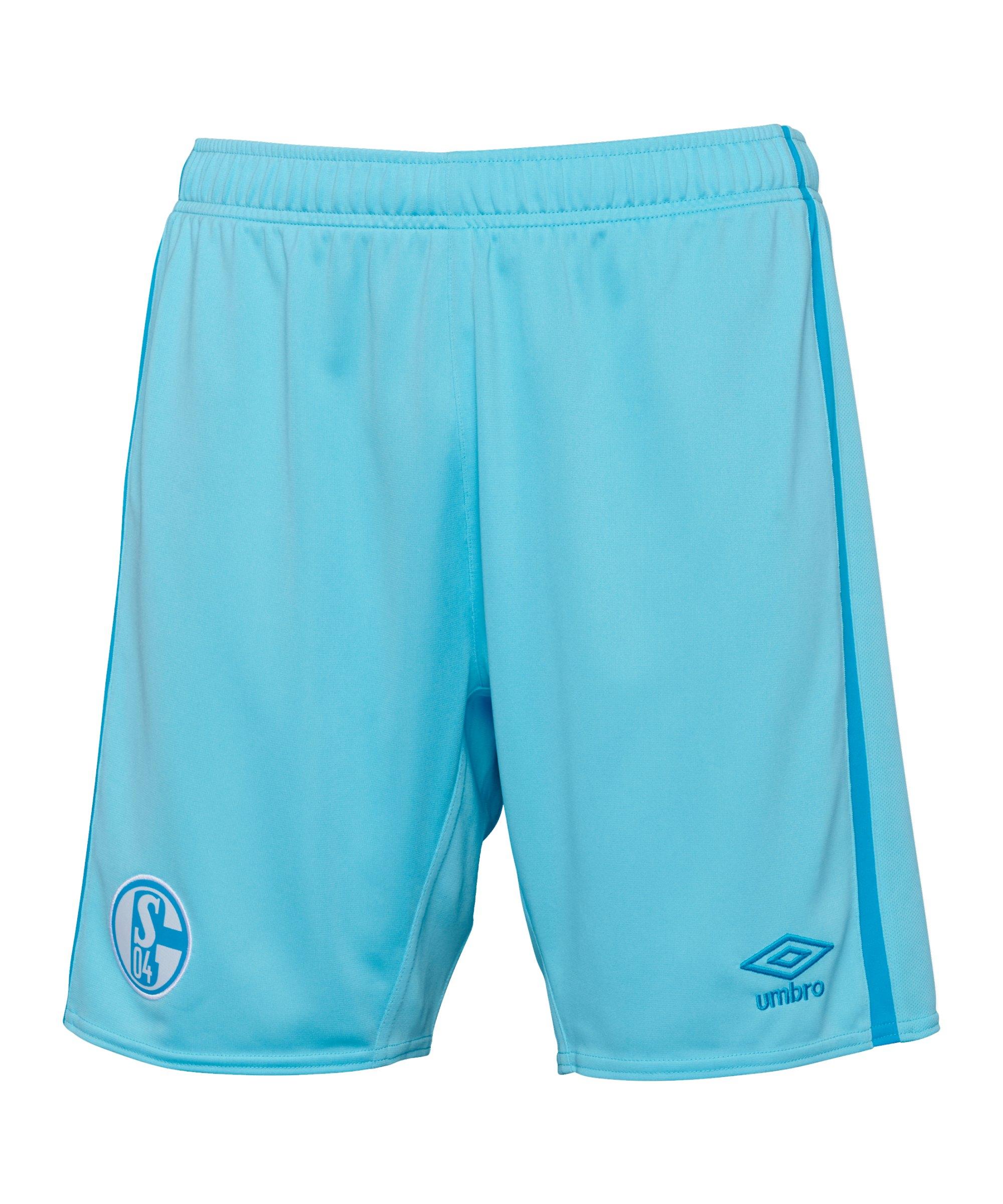 Umbro FC Schalke 04 Short Away Kids 2021/2022 Blau - blau