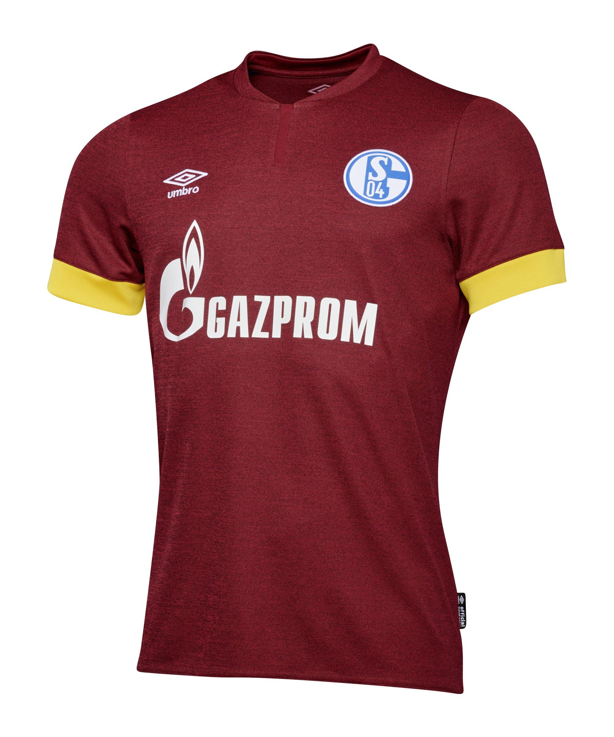Umbro FC Schalke 04 Trikot 3rd 2021/2022 Kids Rot - rot