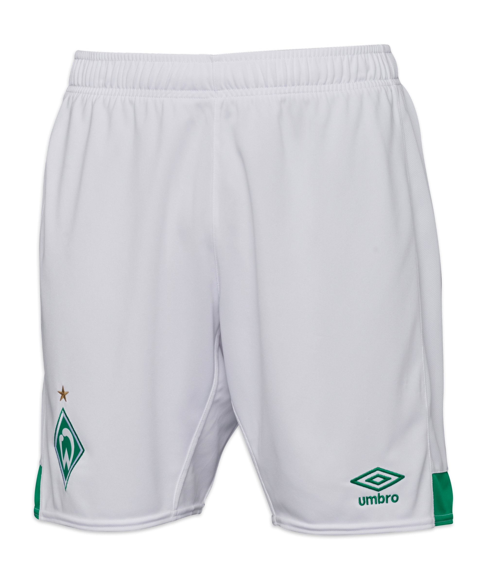 Umbro SV Werder Bremen Short Home 2021/2022 Kids Weiss - weiss