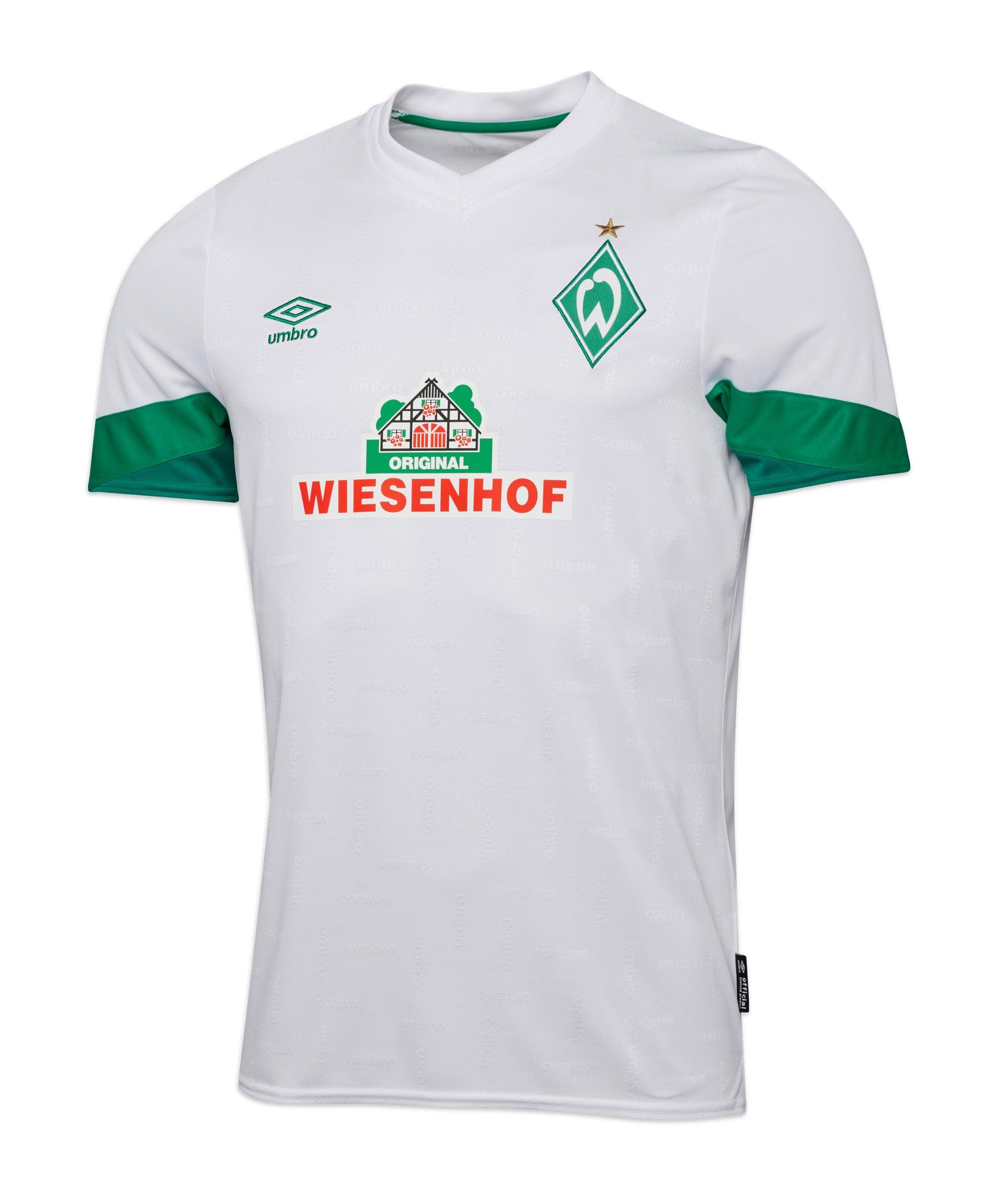 Umbro SV Werder Bremen Trikot Away 2021/2022 Kids Weiss - weiss