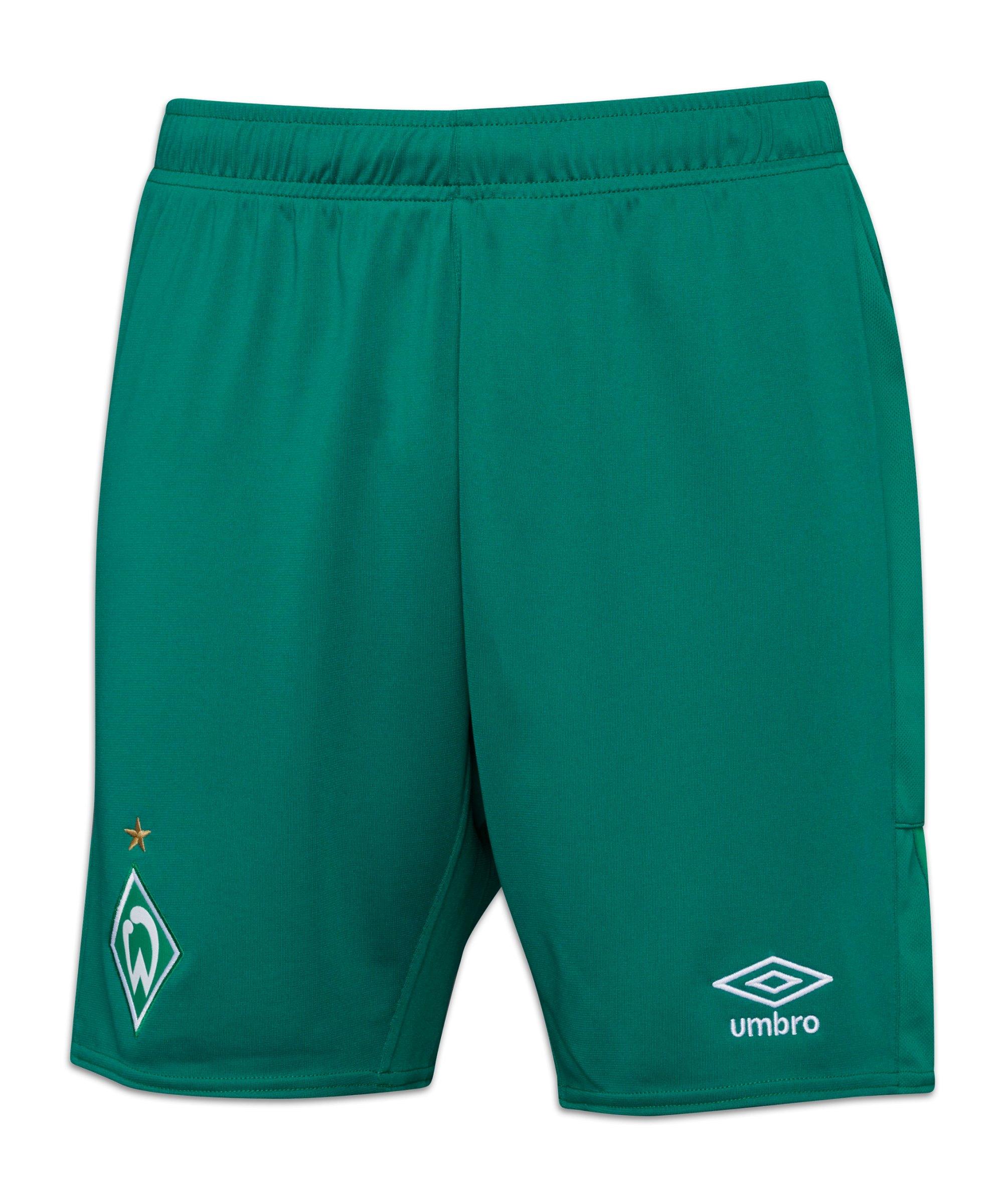 Umbro SV Werder Bremen Short Away 2021/2022 Grün - gruen