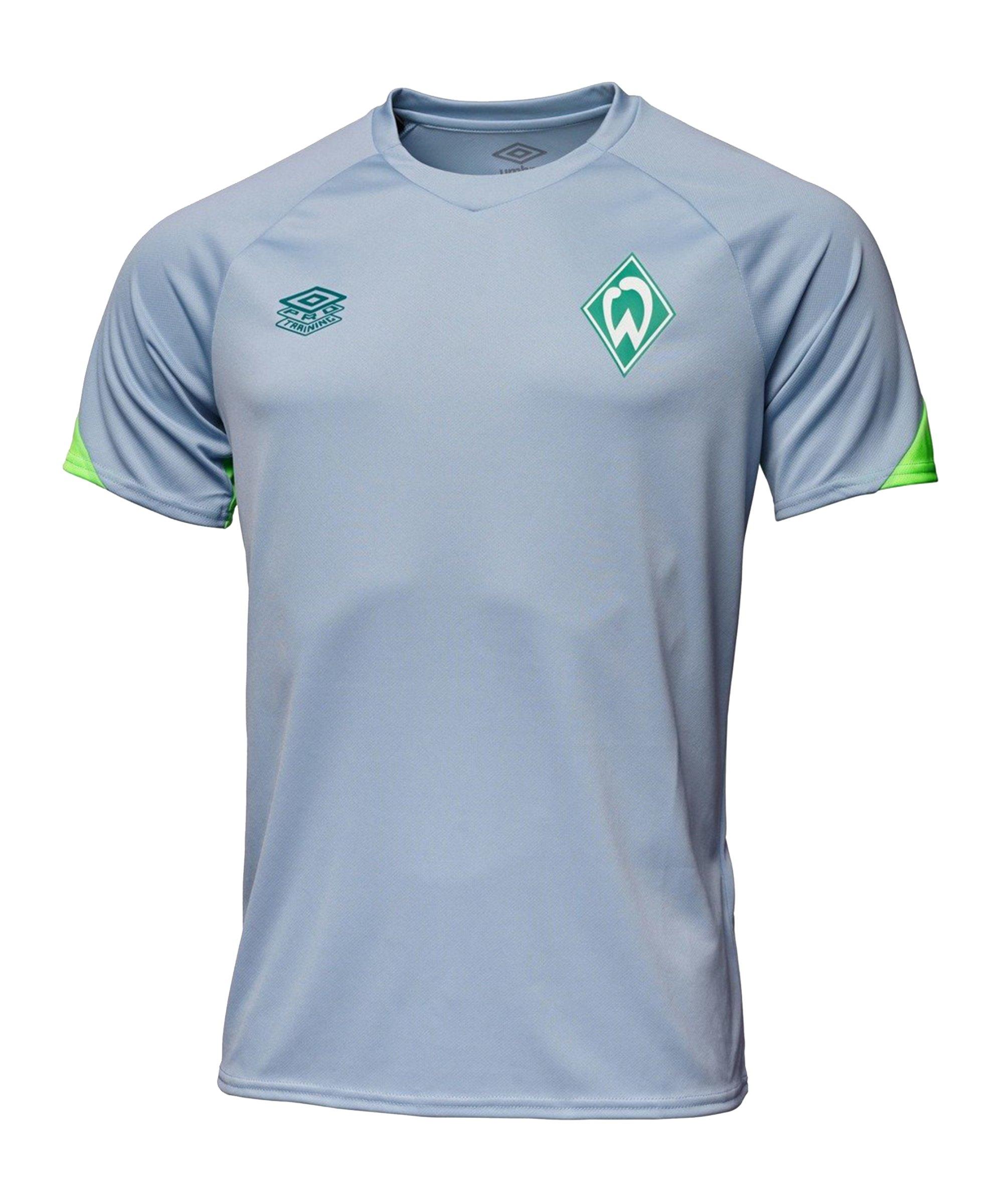 Umbro SV Werder Bremen Training T-Shirt Blau - blau
