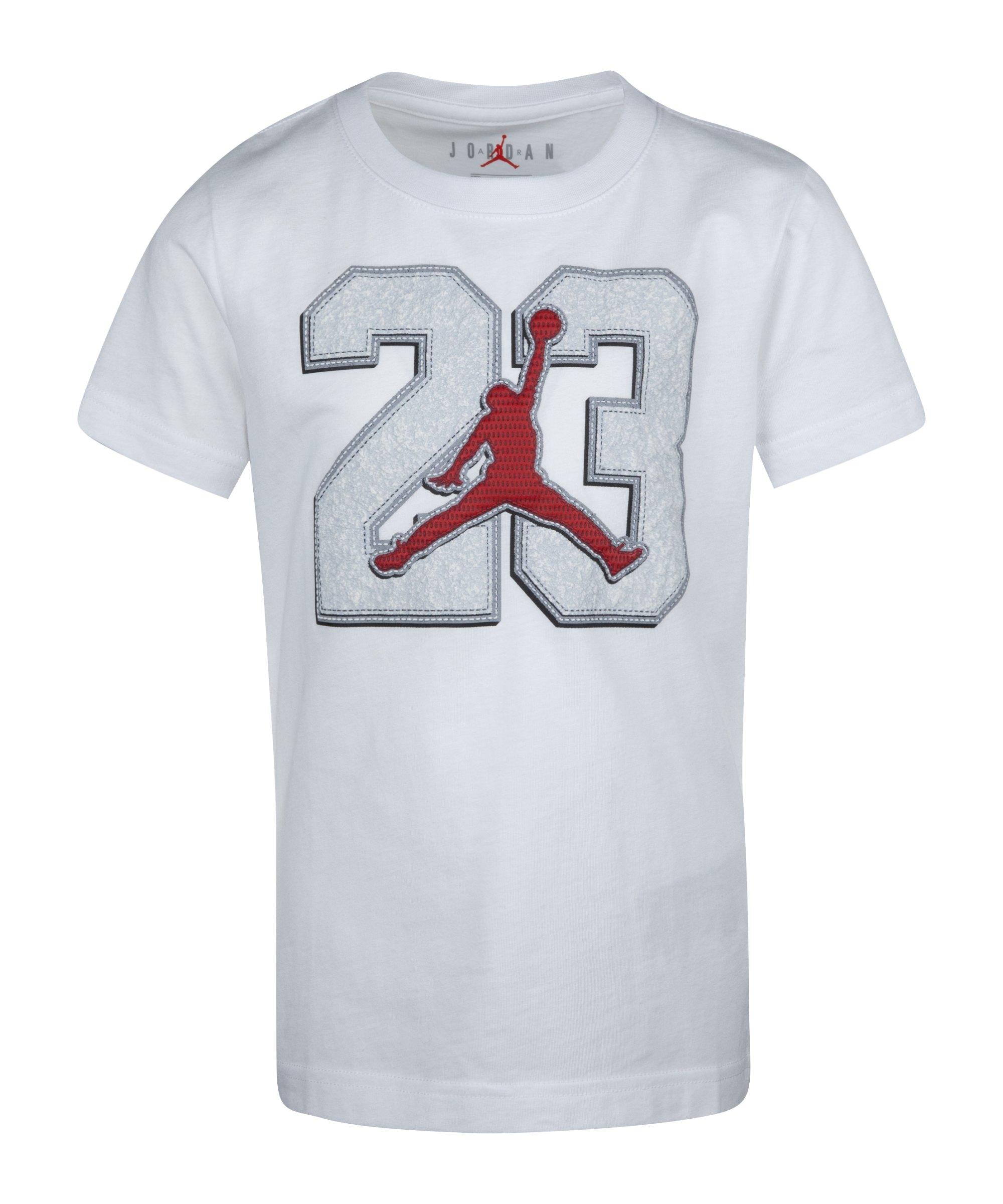 Jordan 23 Game Time T-Shirt Kids Weiss F001 - weiss