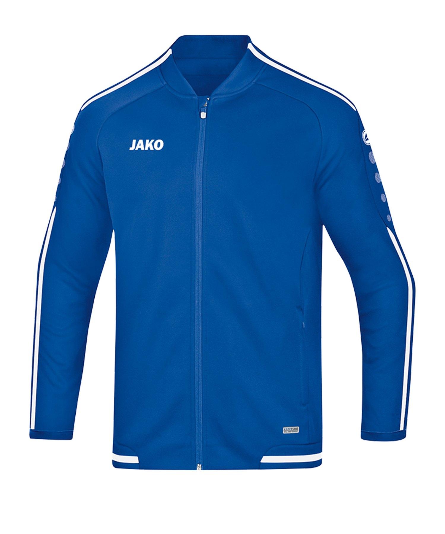 Jako Striker 2.0 Freizeitjacke Blau Weiss F04 - Blau