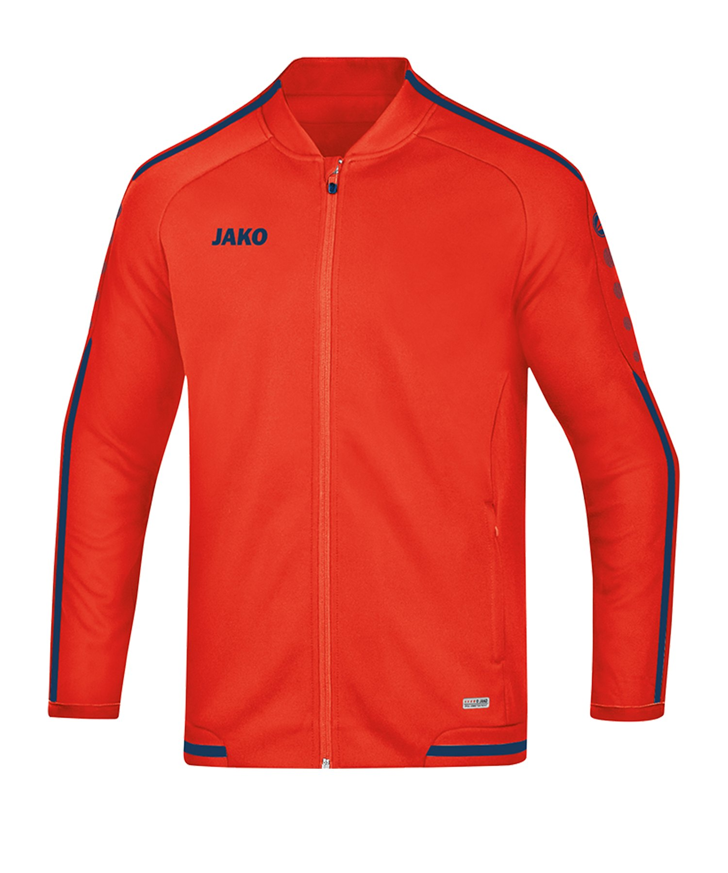 Jako Striker 2.0 Freizeitjacke Damen Orange F18 - Orange