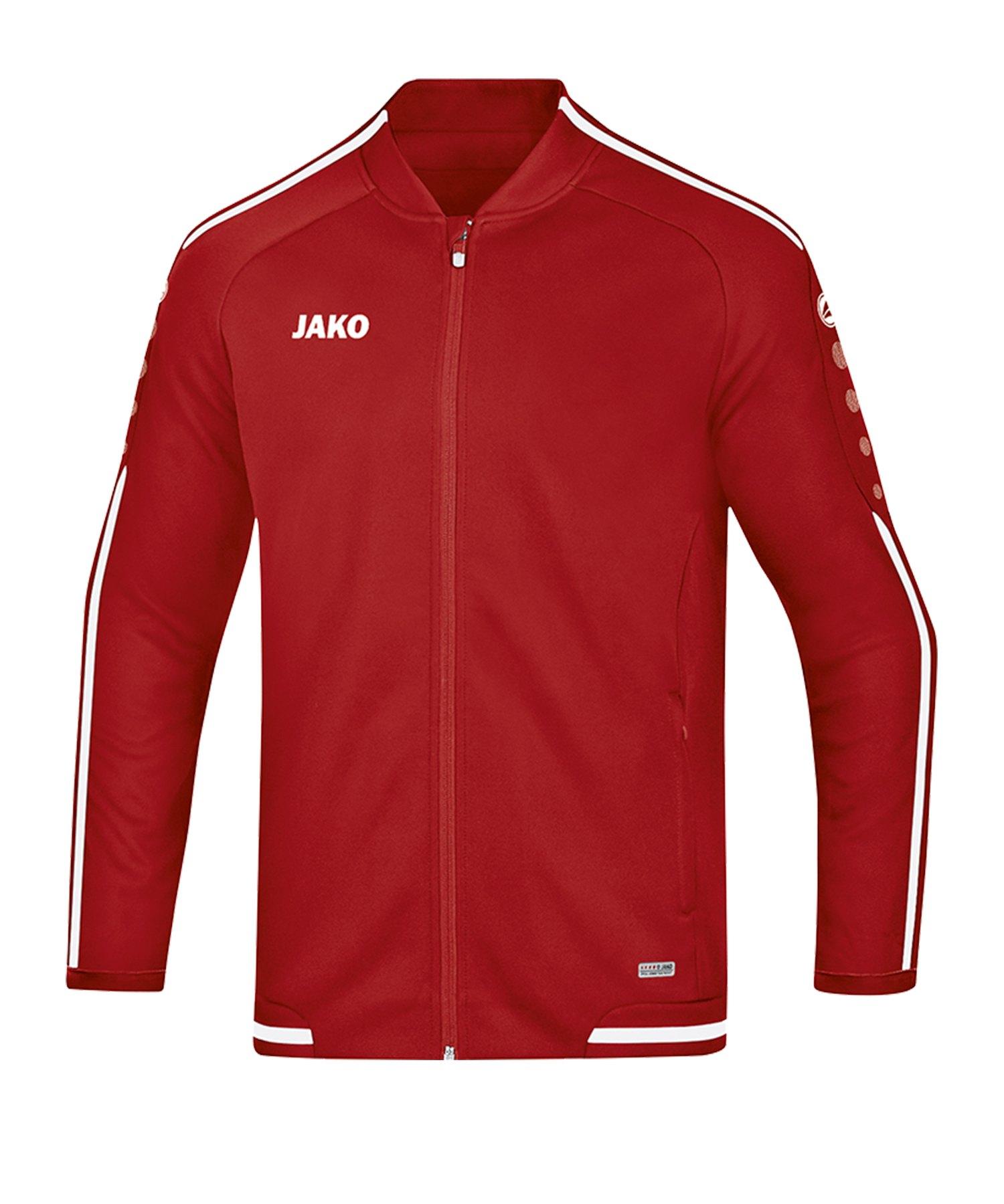 Jako Striker 2.0 Freizeitjacke Damen Rot Weiss F11 - Rot