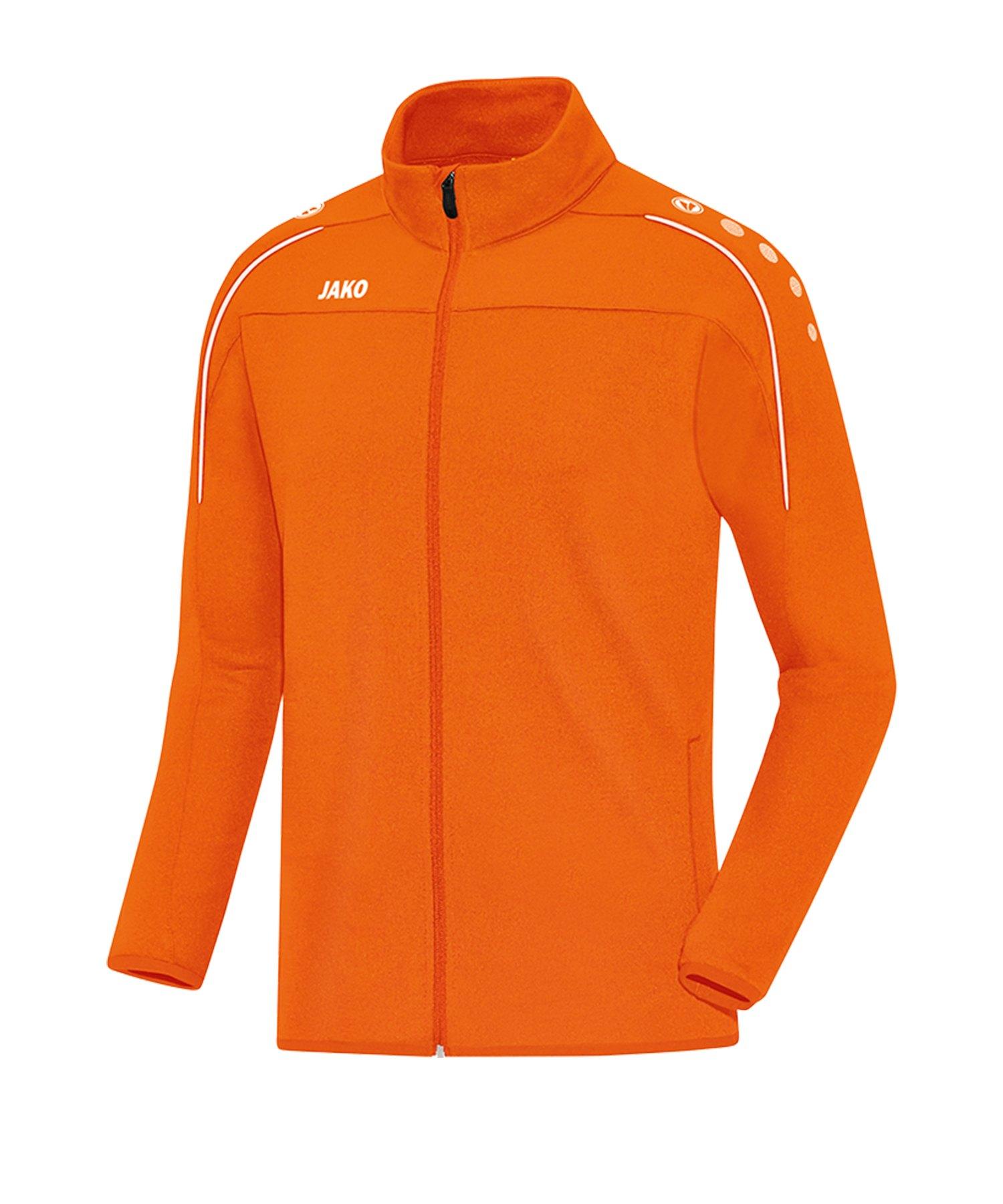Jako Classico Freizeitjacke Damen Orange F19 - Orange