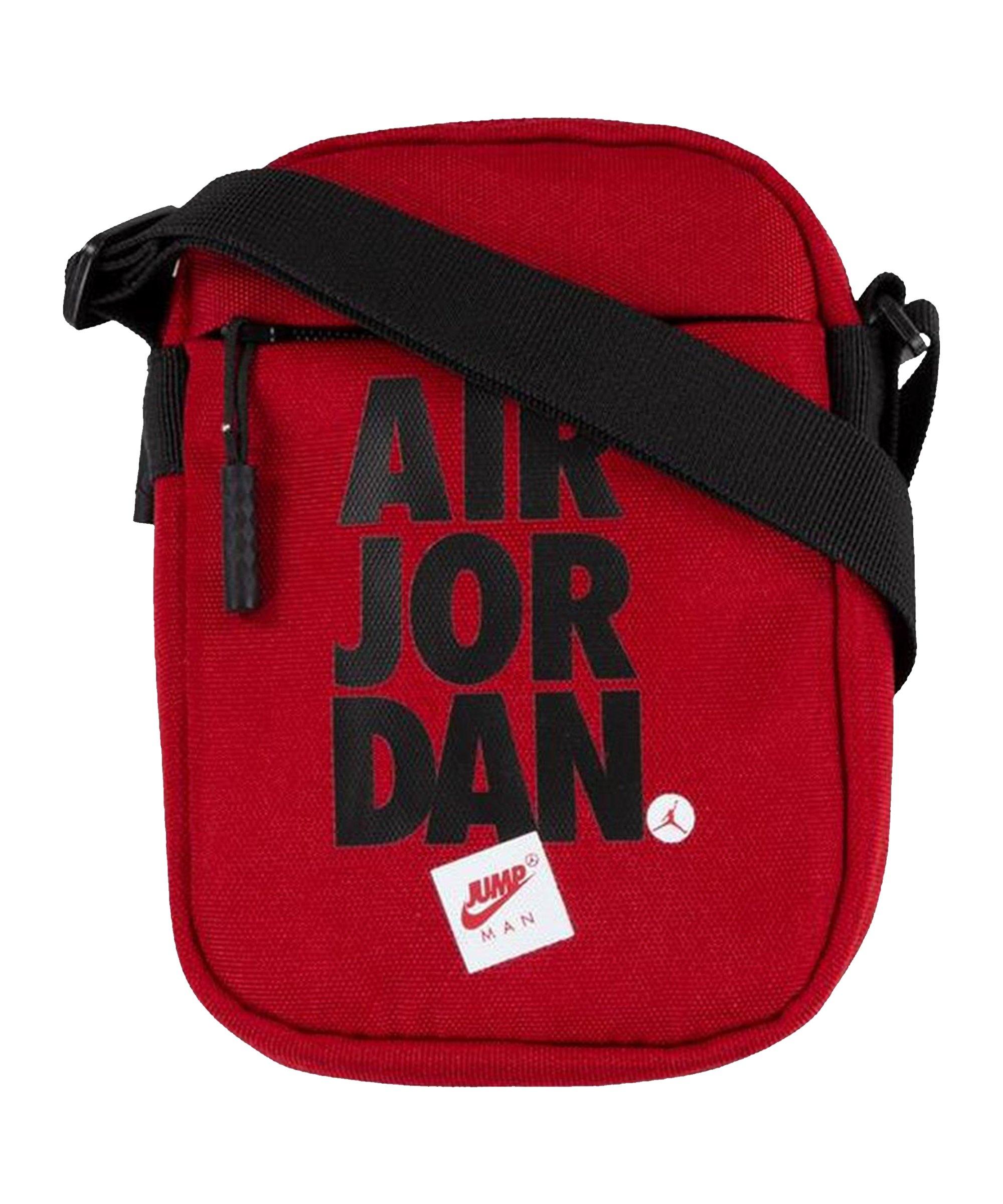 Jordan Jumpman Festival Crossbody Bag Rot FR78 - rot