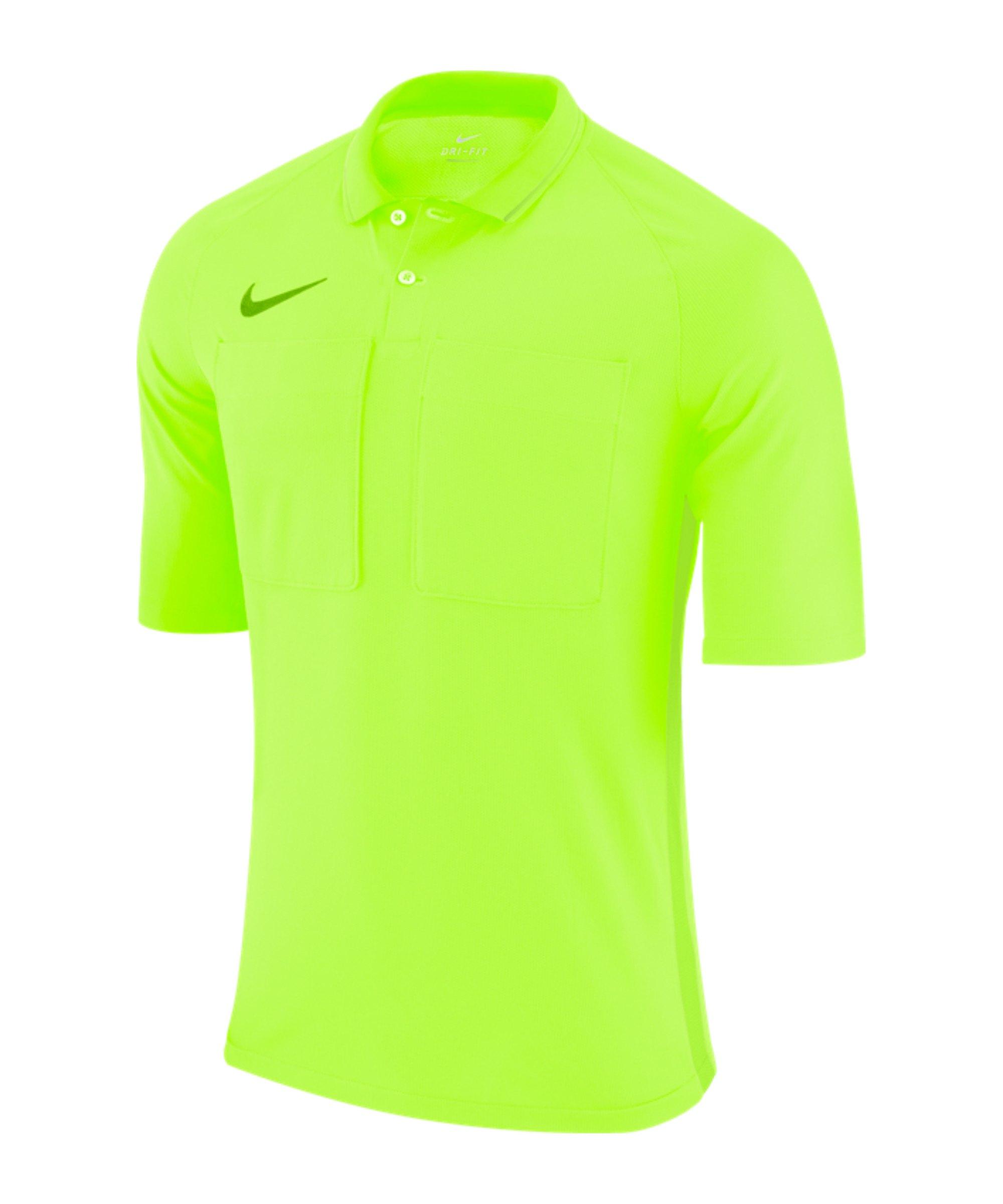 Nike Dry Referee Trikot kurzarm Gelb F703 - gelb