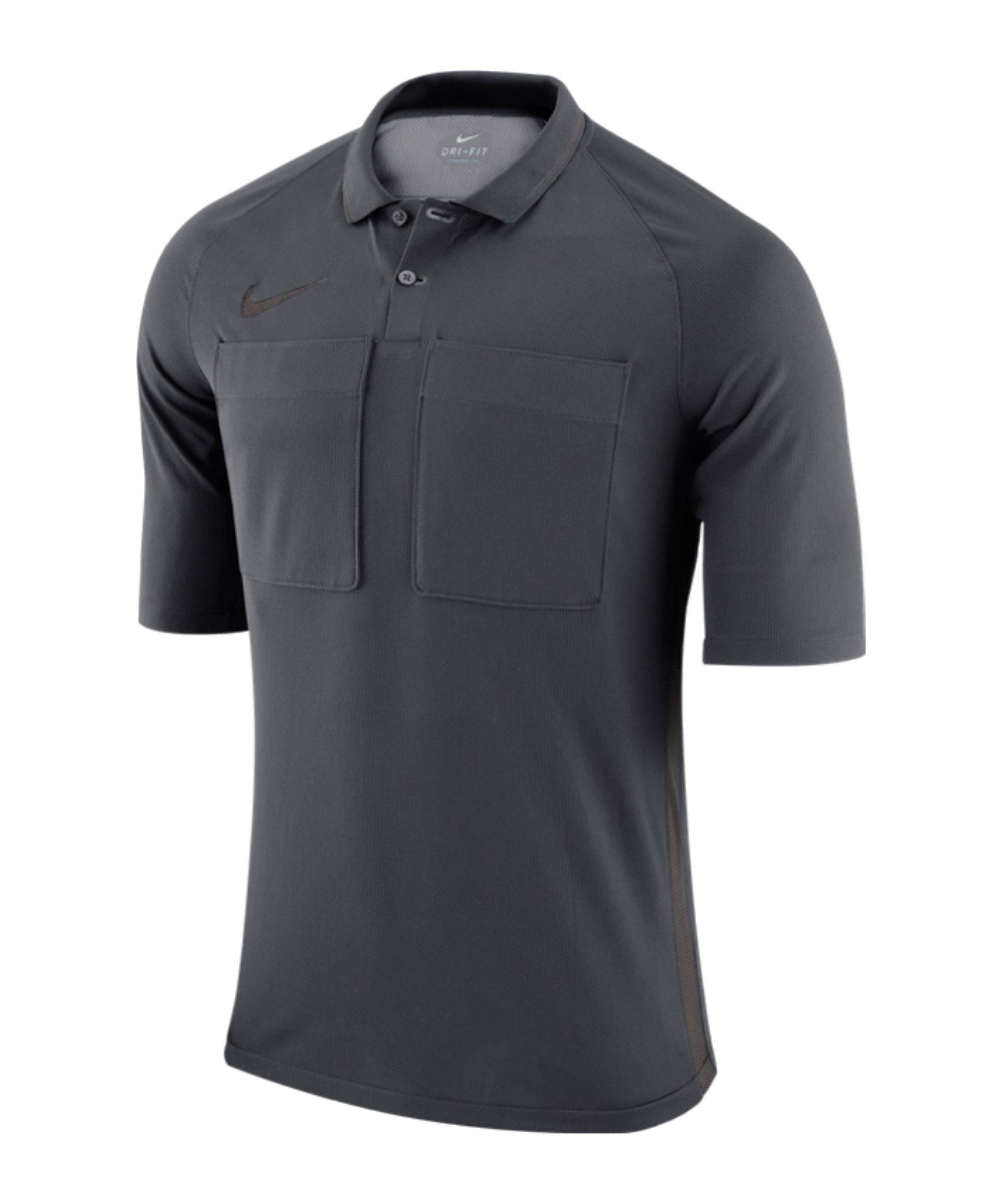 Nike Dry Referee Trikot kurzarm Grau F060 - grau