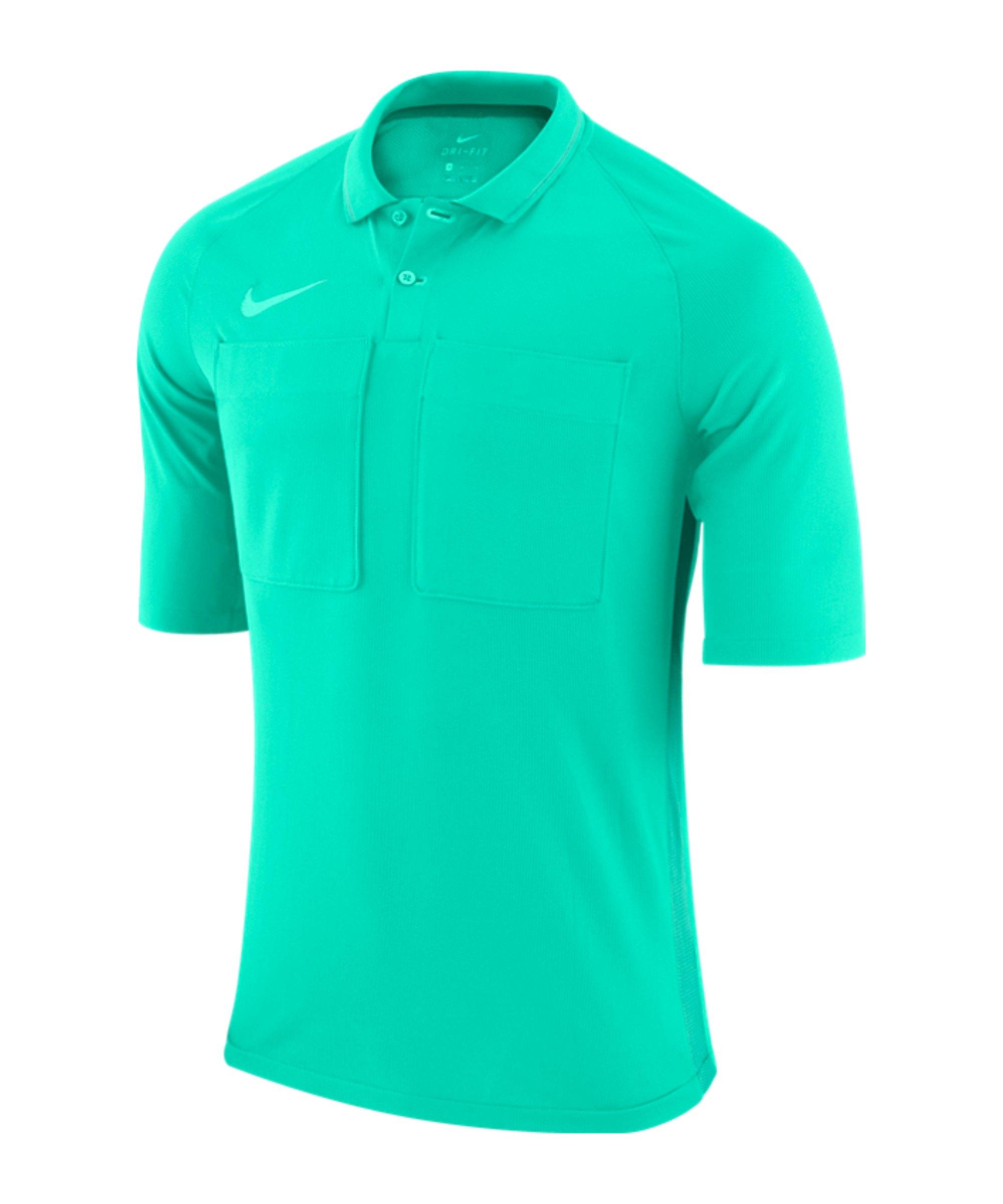 Nike Dry Referee Trikot kurzarm Grün F354 - gruen